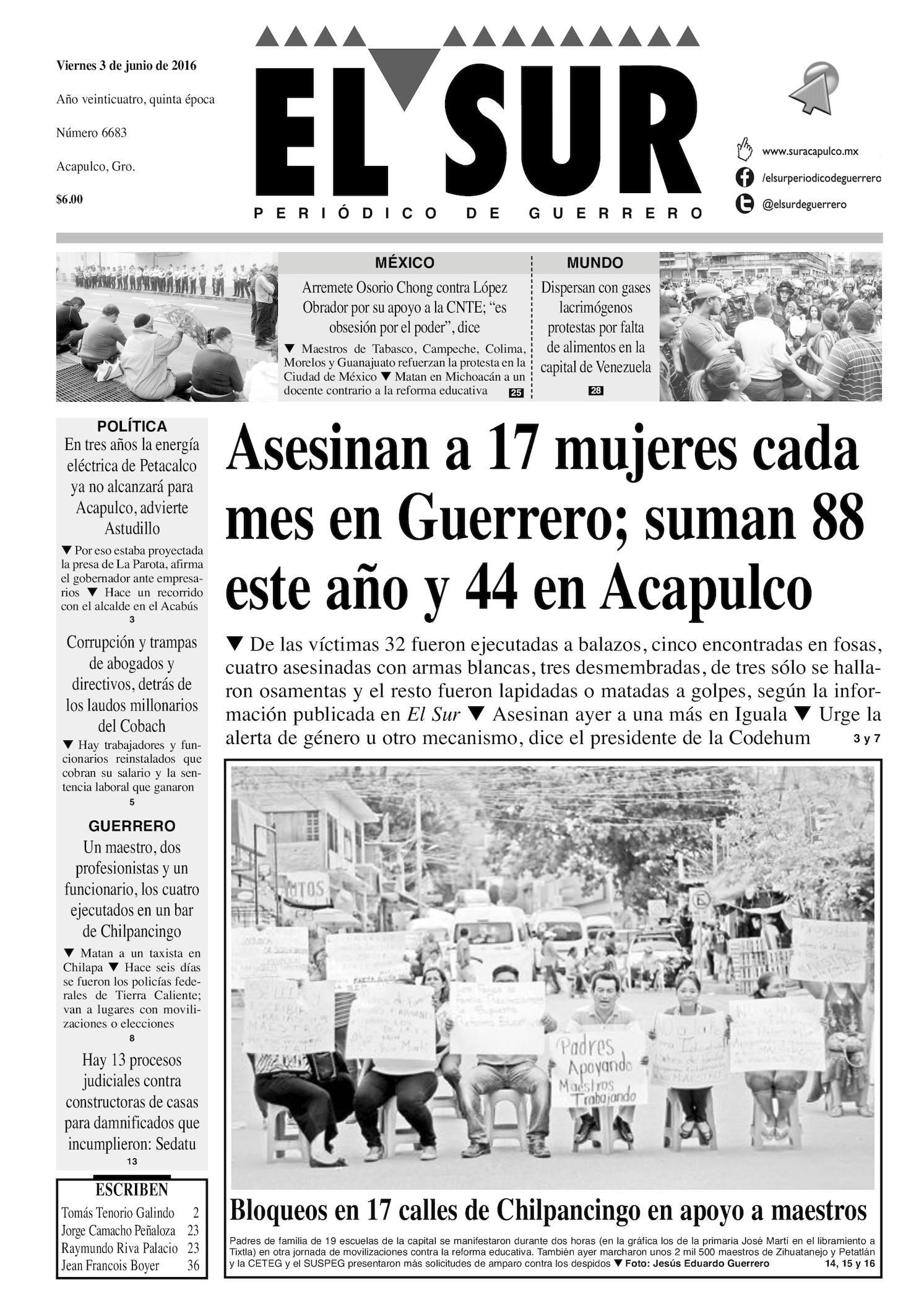 Calaméo - El Sur Viernes 03062016 99db2ceb93121