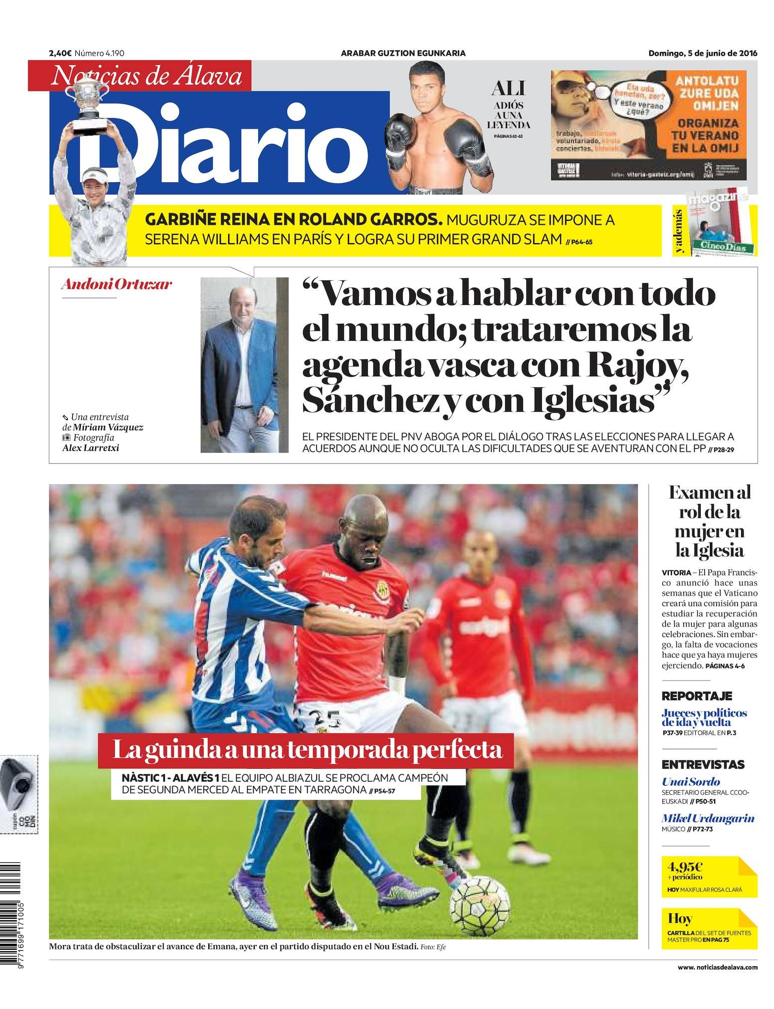 buy popular 338f6 50874 Calaméo - Diario de Noticias de Álava 20160605
