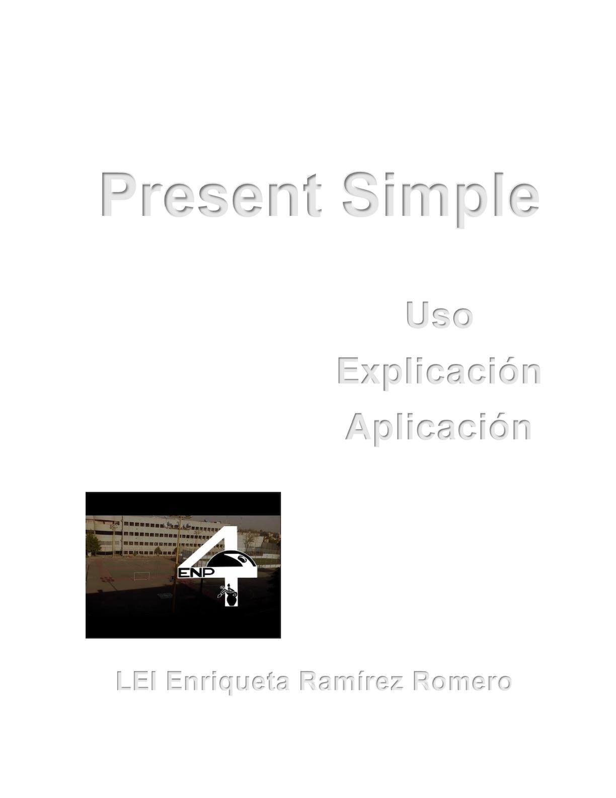 Calaméo Present Simple E Book