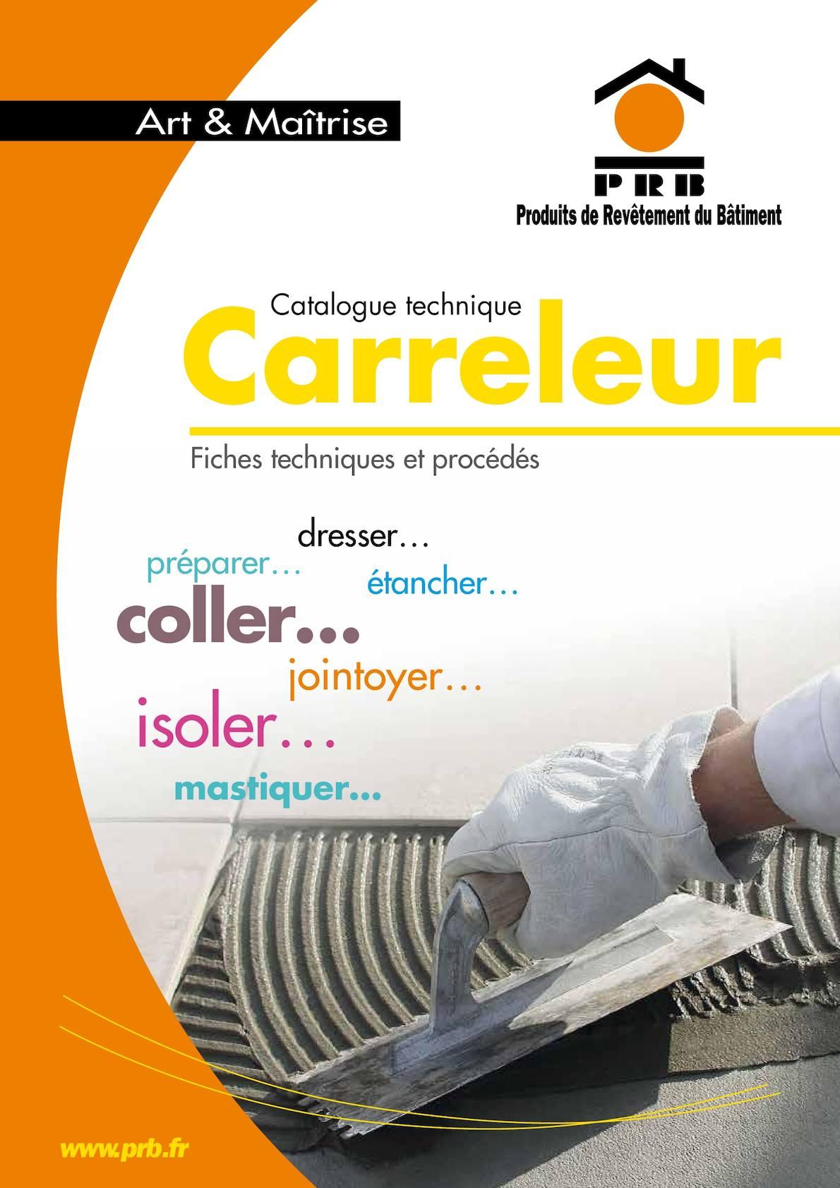Natte Drainante Sous Carrelage Extérieur calaméo - catalogue prb carreleur