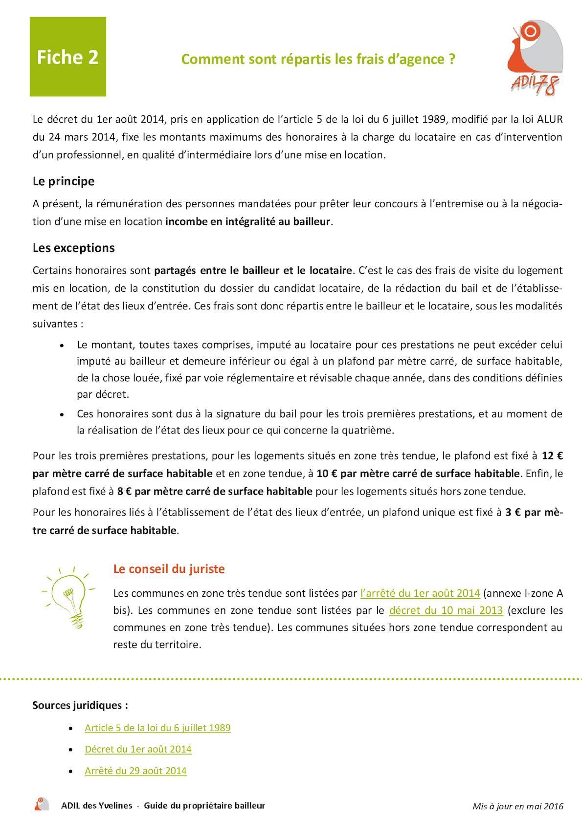 Calameo Fiche 2 Comment Sont Repartis Les Frais D Agence