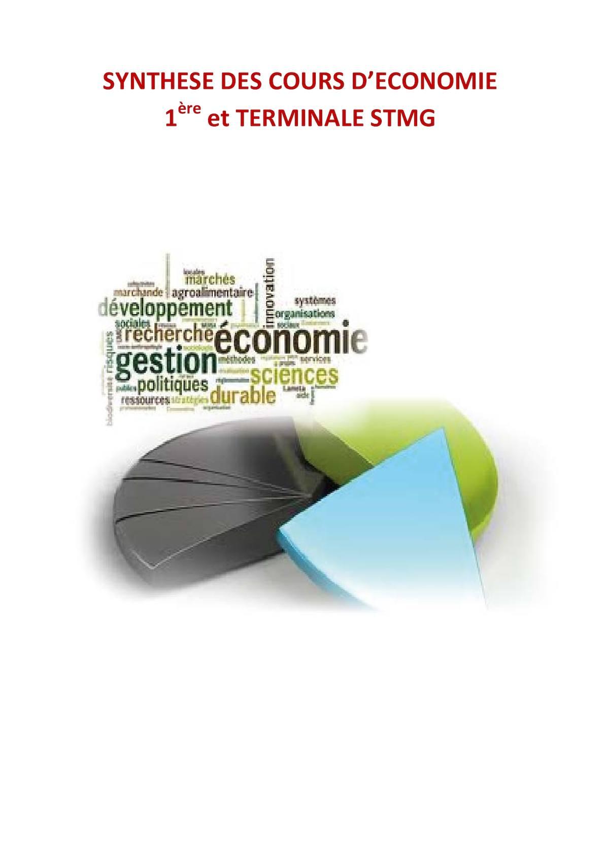 Calameo Economie Stmg