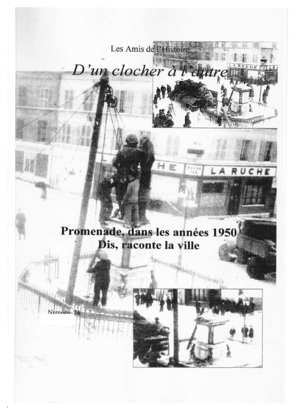 Années 50 Promenade Liancourtoise