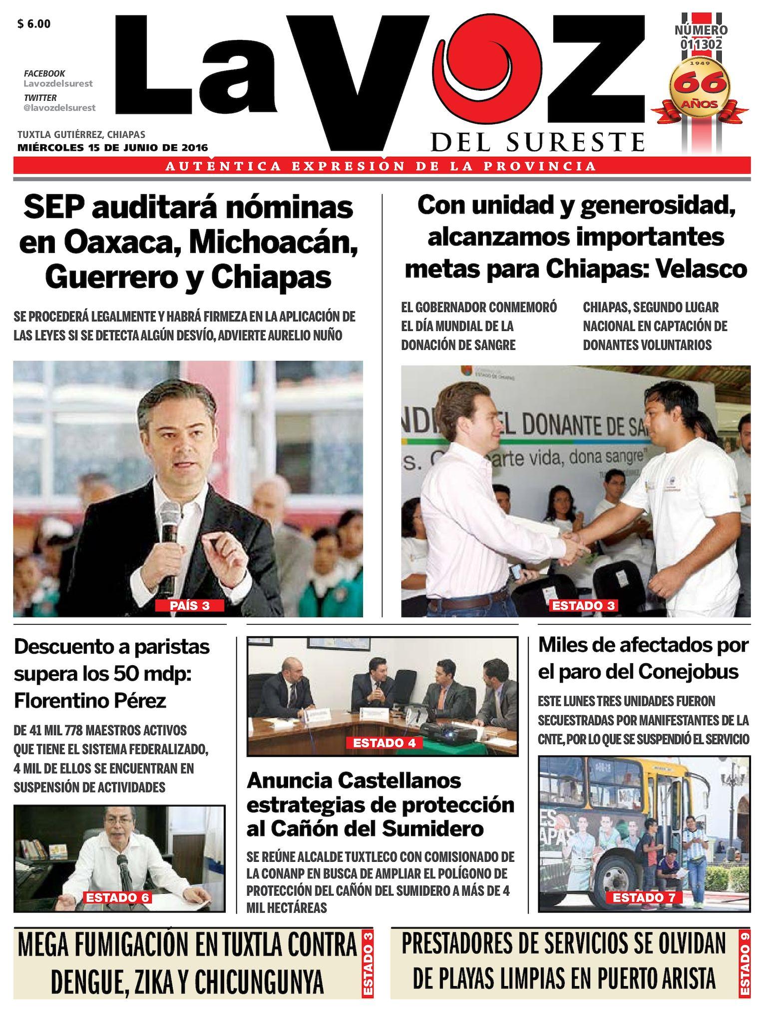 9004a7e8d2 Calaméo - Diario La Voz del Sureste