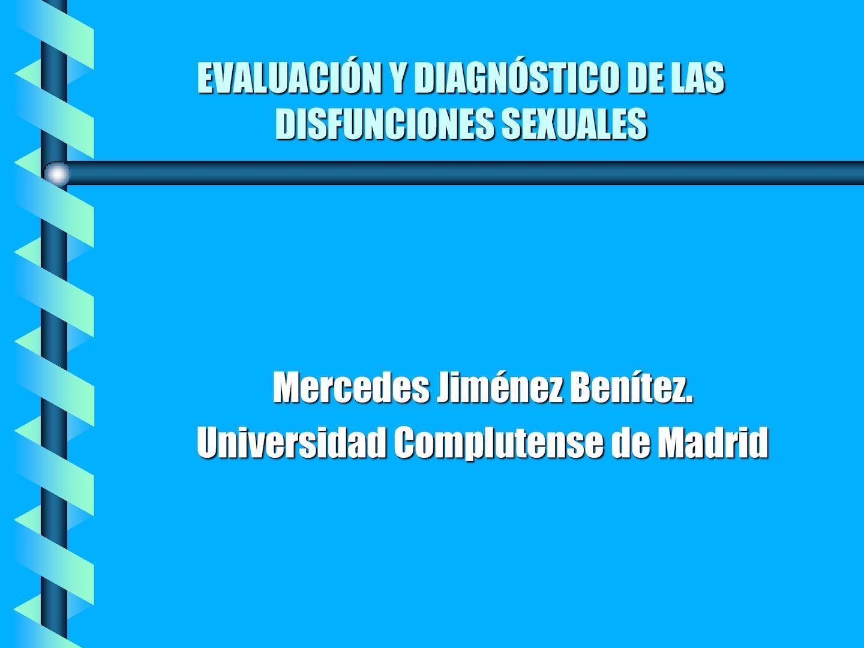 dimensiones psicológicas e interpersonales de la función y disfunción sexual