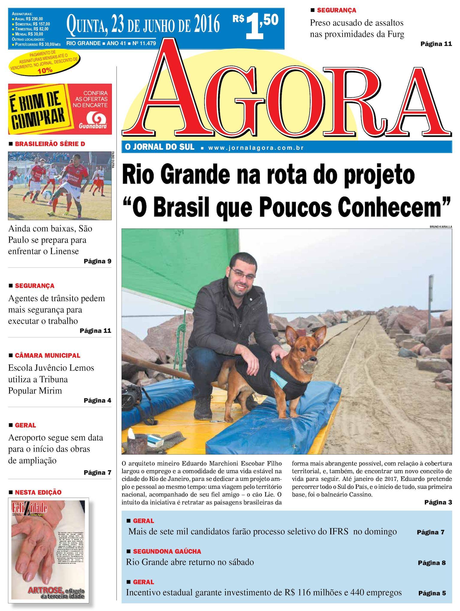 0c0cb916b8c52 Calaméo - Jornal Agora - Edição 11479 - 23 de Junho de 2016