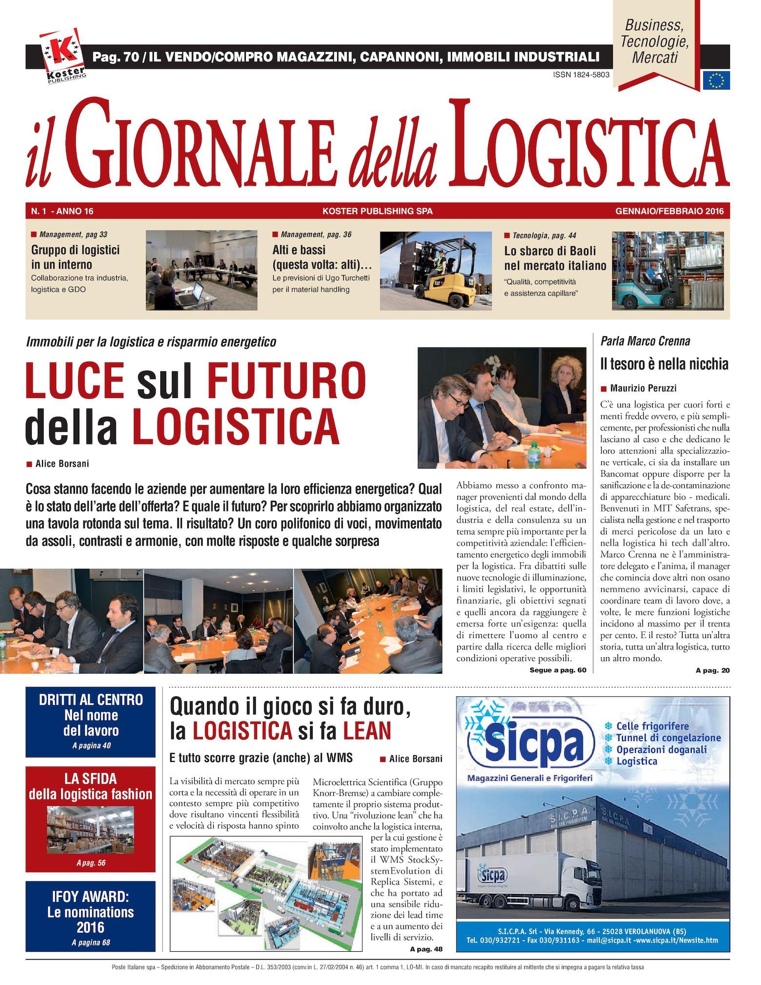 Calaméo - Il Giornale Della Logistica Gennaio 2016 40acd29e59f9