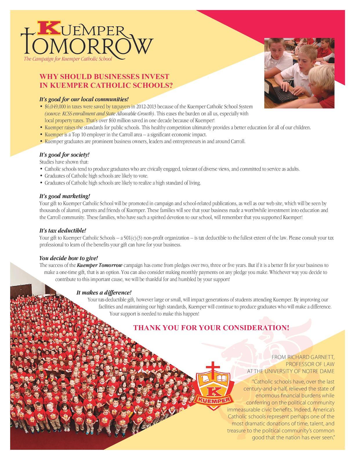 Calaméo - Kuemper Catholic Business Appeal