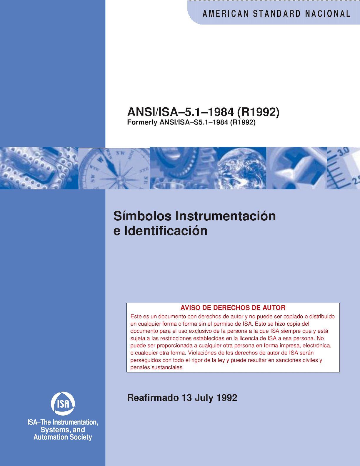 Calaméo   Norma ISA 40.40 40992   Instrumentation Symbols and ...