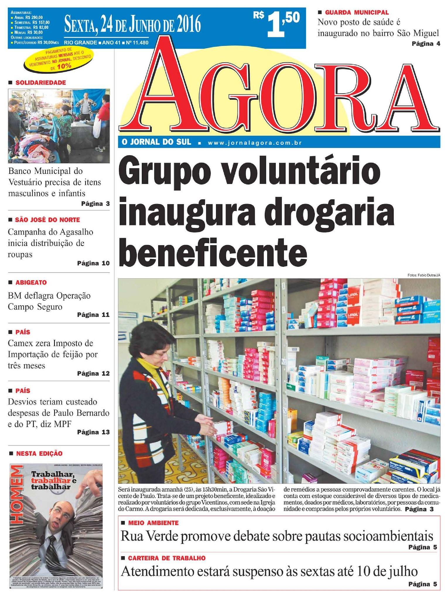 79b738d13 Calaméo - Jornal Agora - Edição 11480 - 24 de Junho de 2016