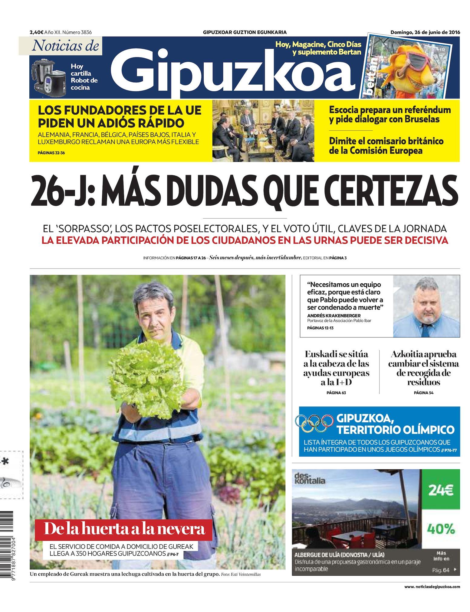 Calaméo Noticias Calaméo Gipuzkoa Noticias De Calaméo 20160626 De 20160626 Gipuzkoa 43jLq5AR