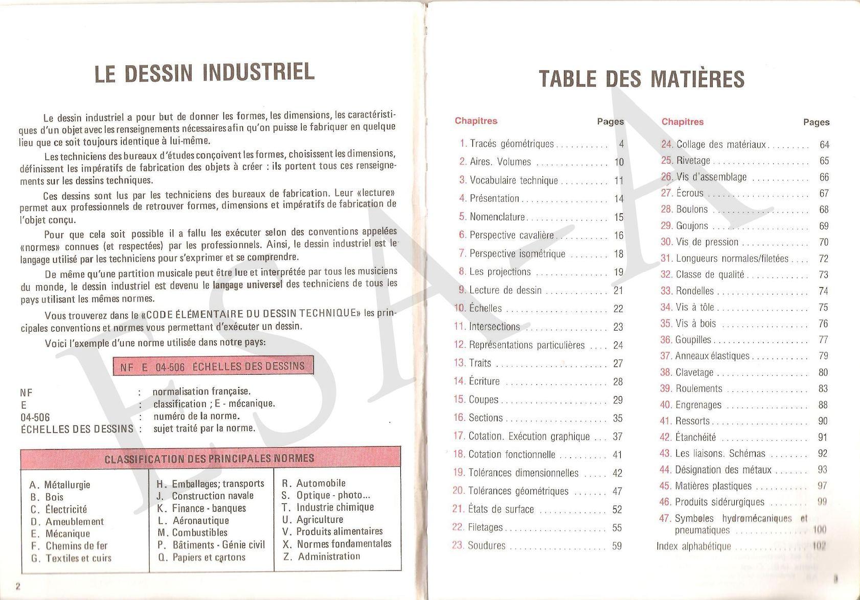Code Elementaire Du Dessin Technique Calameo Downloader
