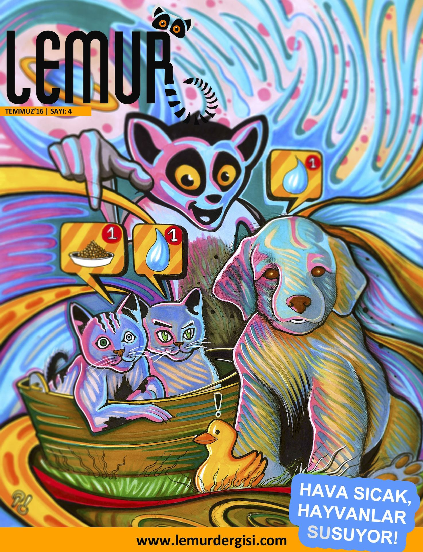 Calameo Lemur Dergisi Temmuz 16