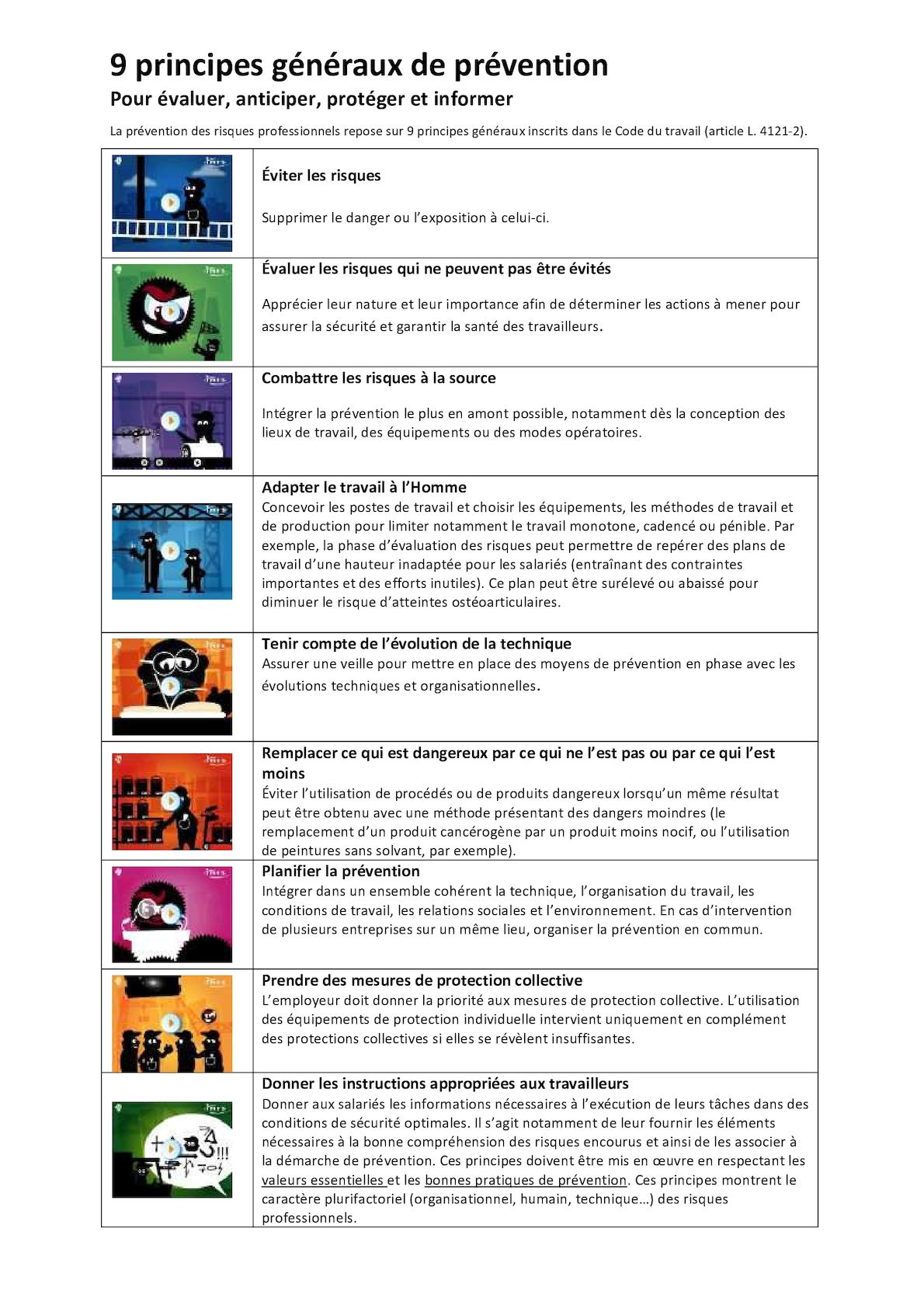 Calaméo - 9 Principes De Prevention 075bfb5ff078