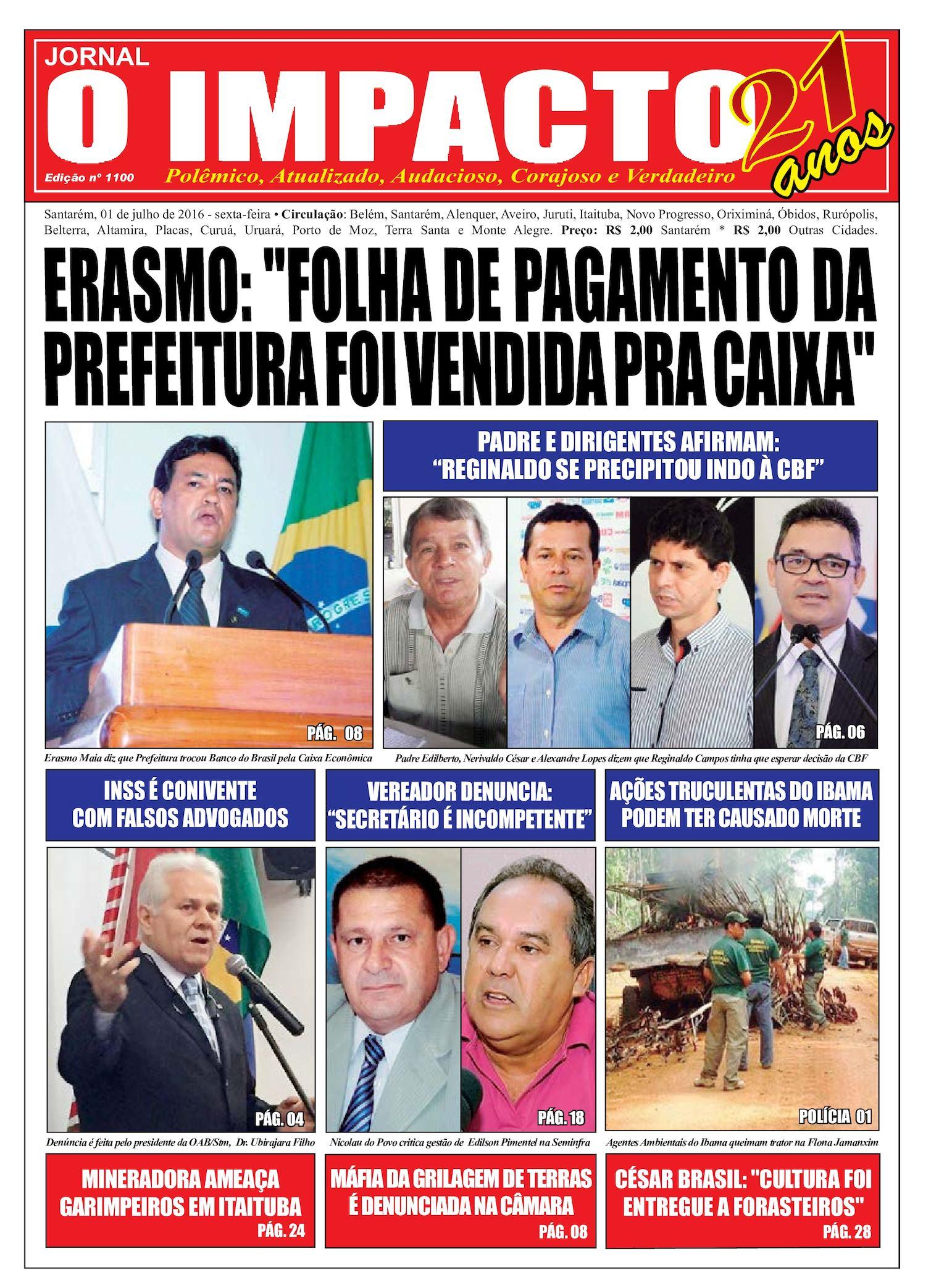 7a85252bdb1b6 Calaméo - Jornal O Impacto Ed. 1100
