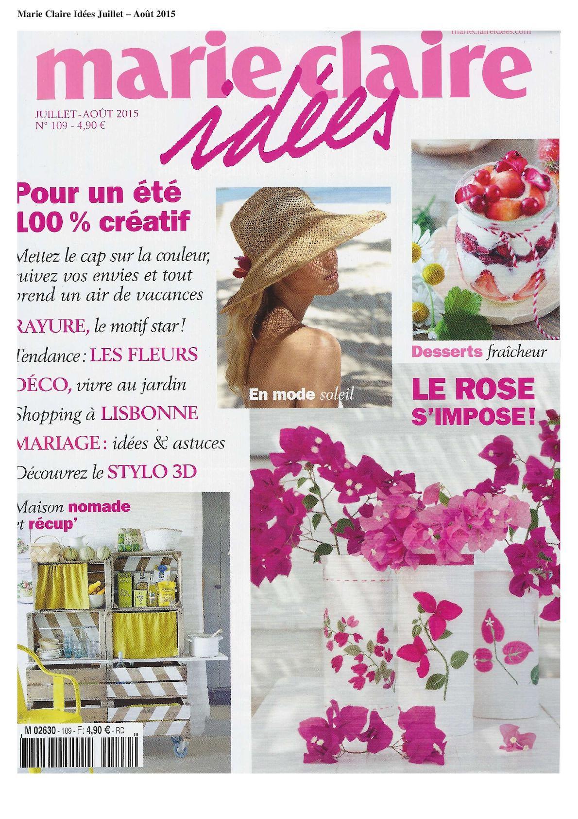 Marie Claire Maison Jardin Recup calaméo - marie claire idees juillet aout 2015