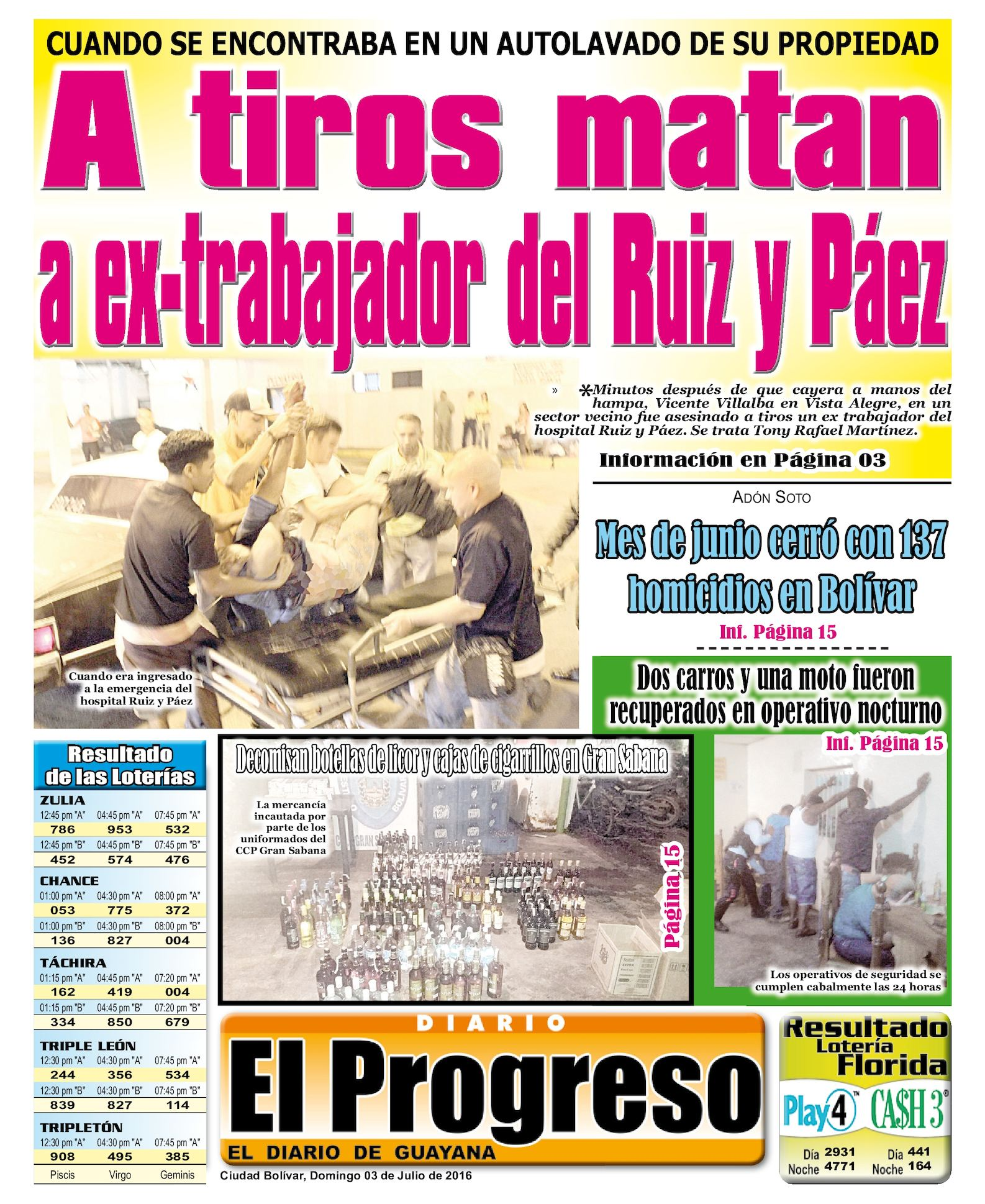 Diarioelprogreso2016 07 03 Calameo Downloader # Muebles Para Fofuchas