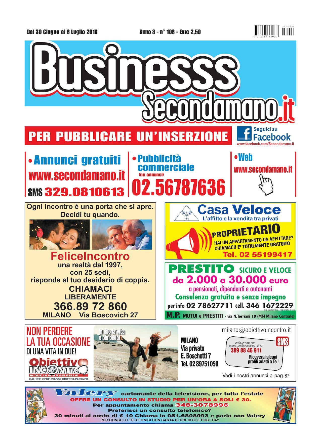 brand new 94f3f 2fa09 Calaméo - SECONDAMANO N° 106