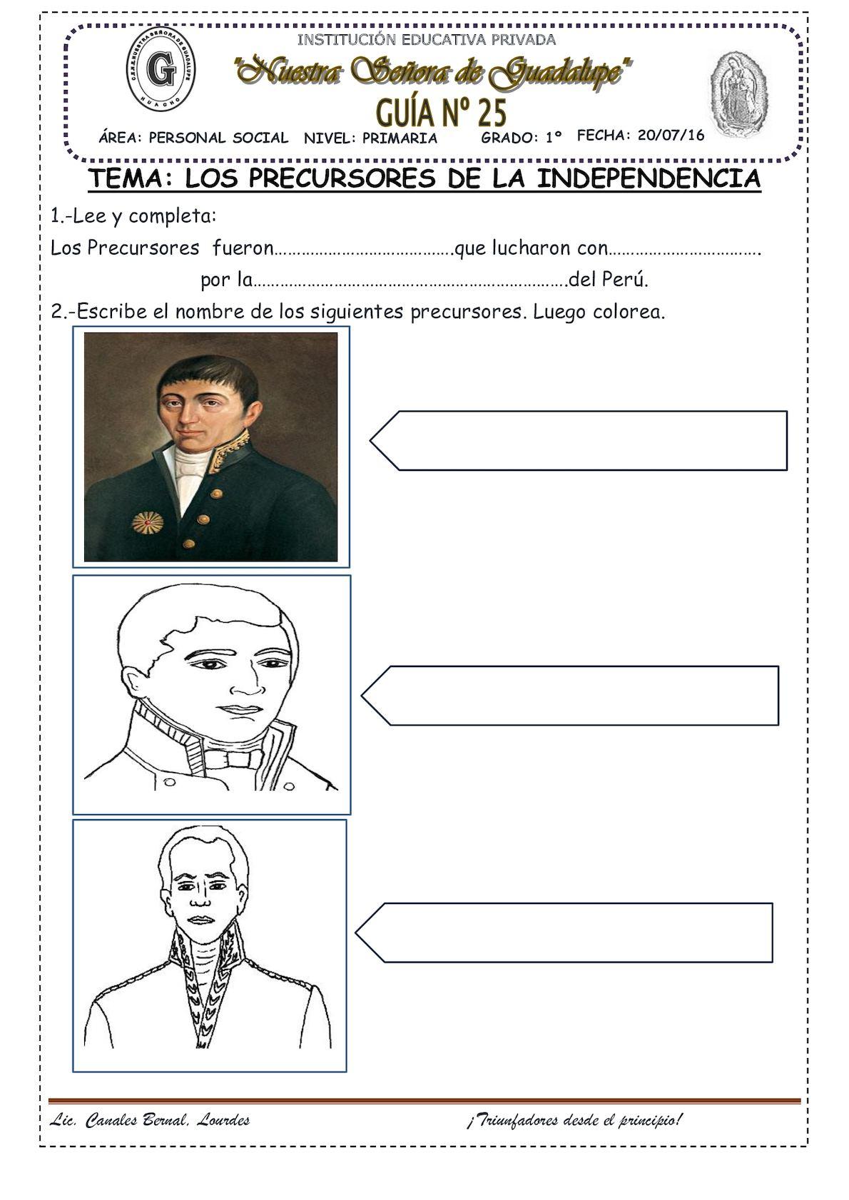 Precursores De La Independencia