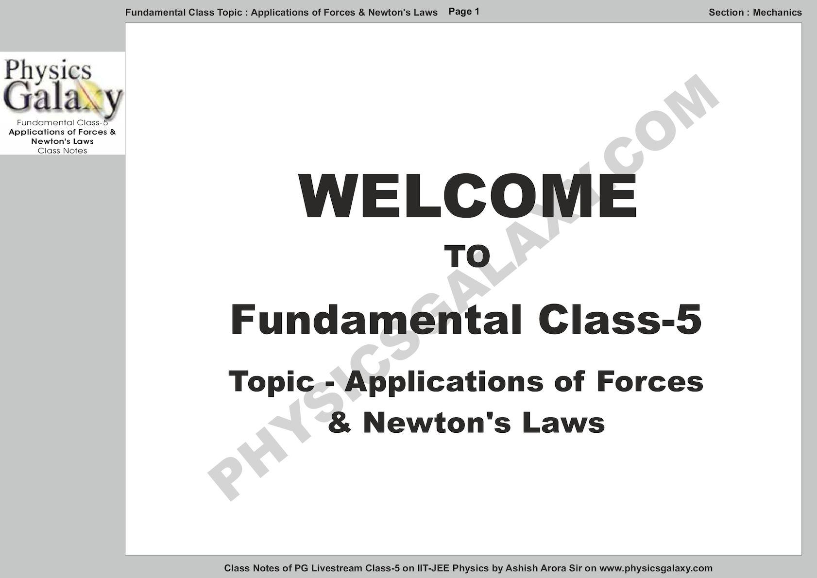 Calaméo - Fundamental Class - 5 By Ashish Arora Notes