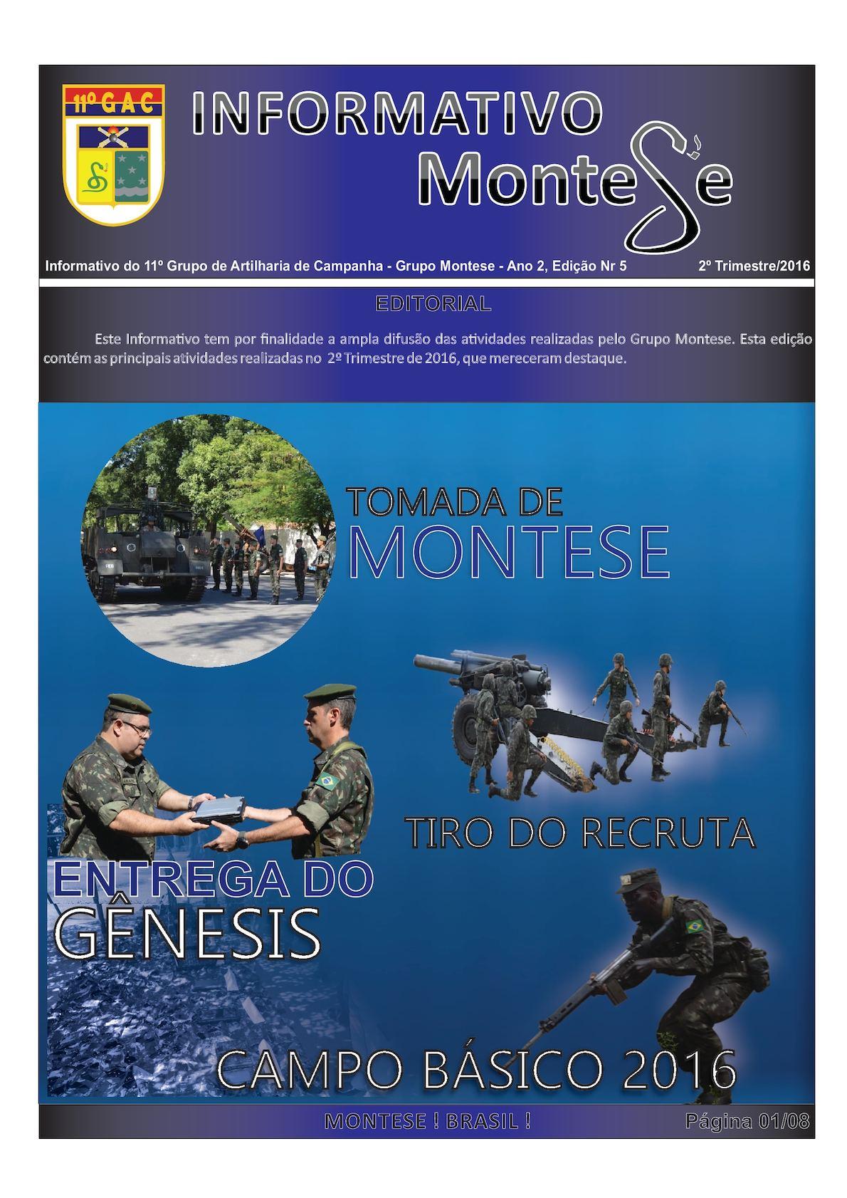 8b505e4b17 Calaméo - Informativo 11º GAC- 2º Trimestre 2016