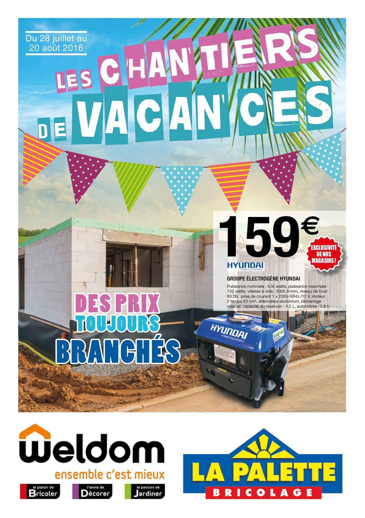 Calaméo - Weldom Matoury - Chantiers De Vacances