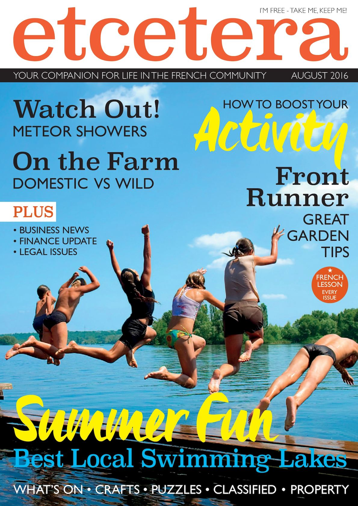 Calaméo August 2016 August Magazine Etcetera Calaméo WEDH29I