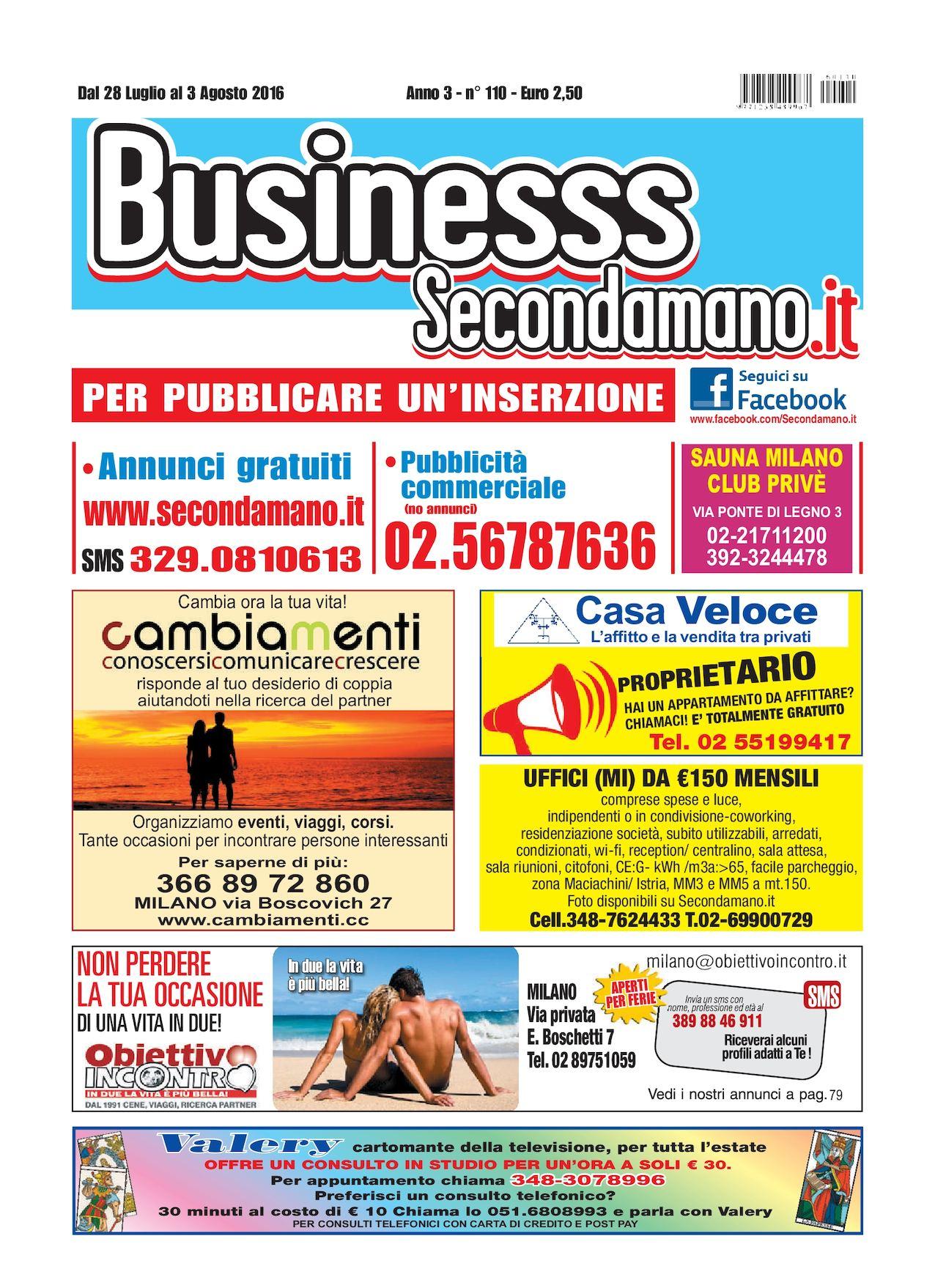 the best attitude 27887 e80d4 Calaméo - SECONDAMANO N° 110