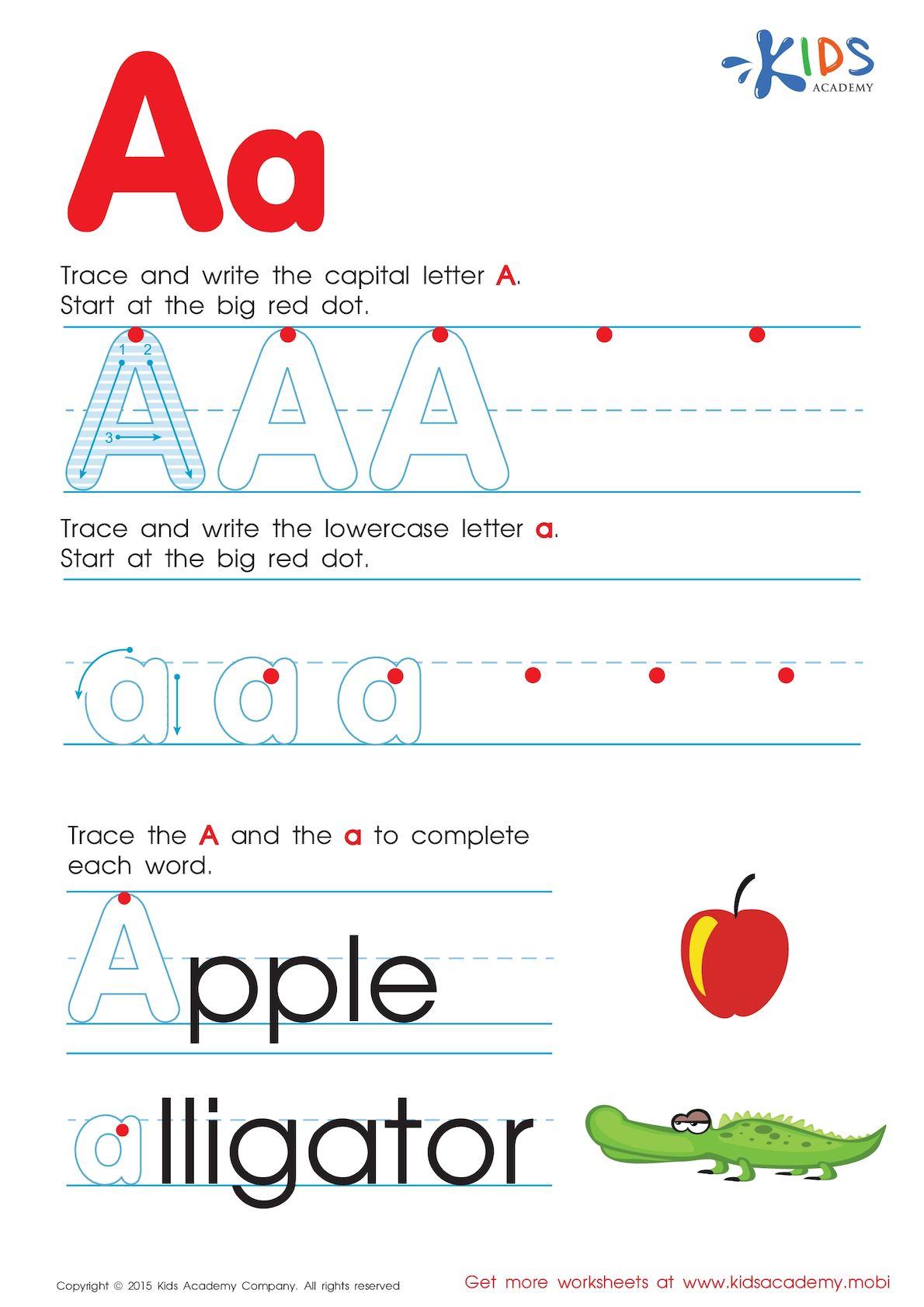 Calaméo - Free Alphabet Worksheets For Kids A Z