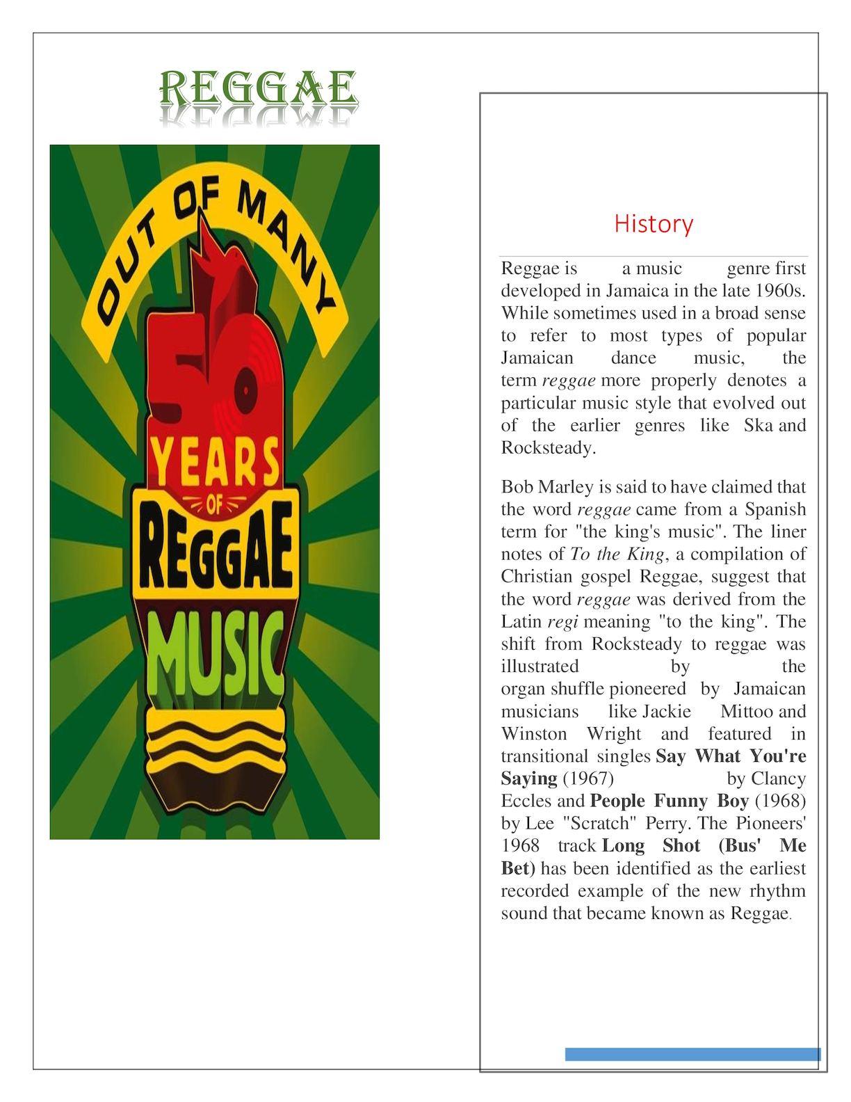calaméo reggae 10 5