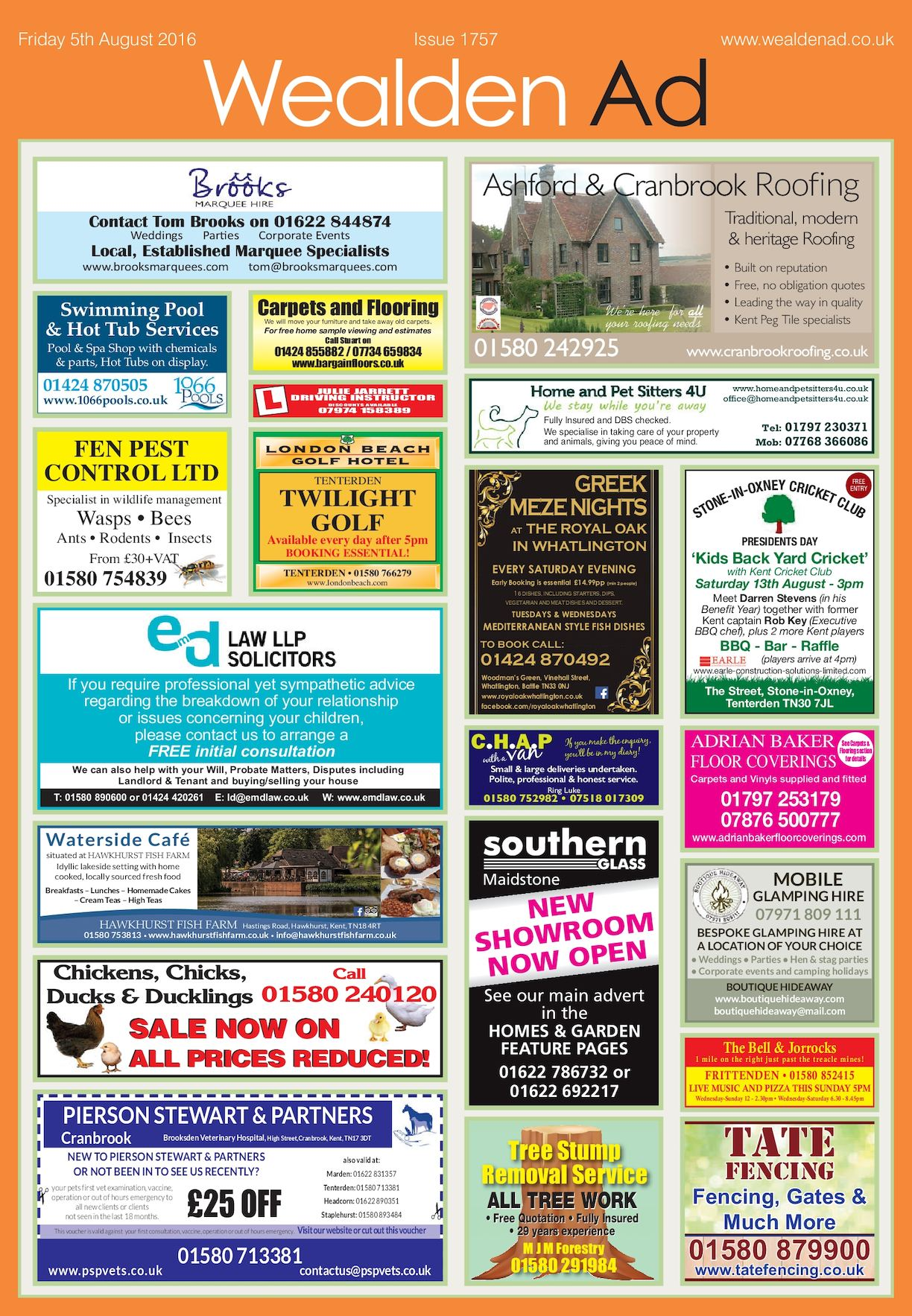 Lilley Tile And Stone Llp calaméo - wealden ad 5/8/2106