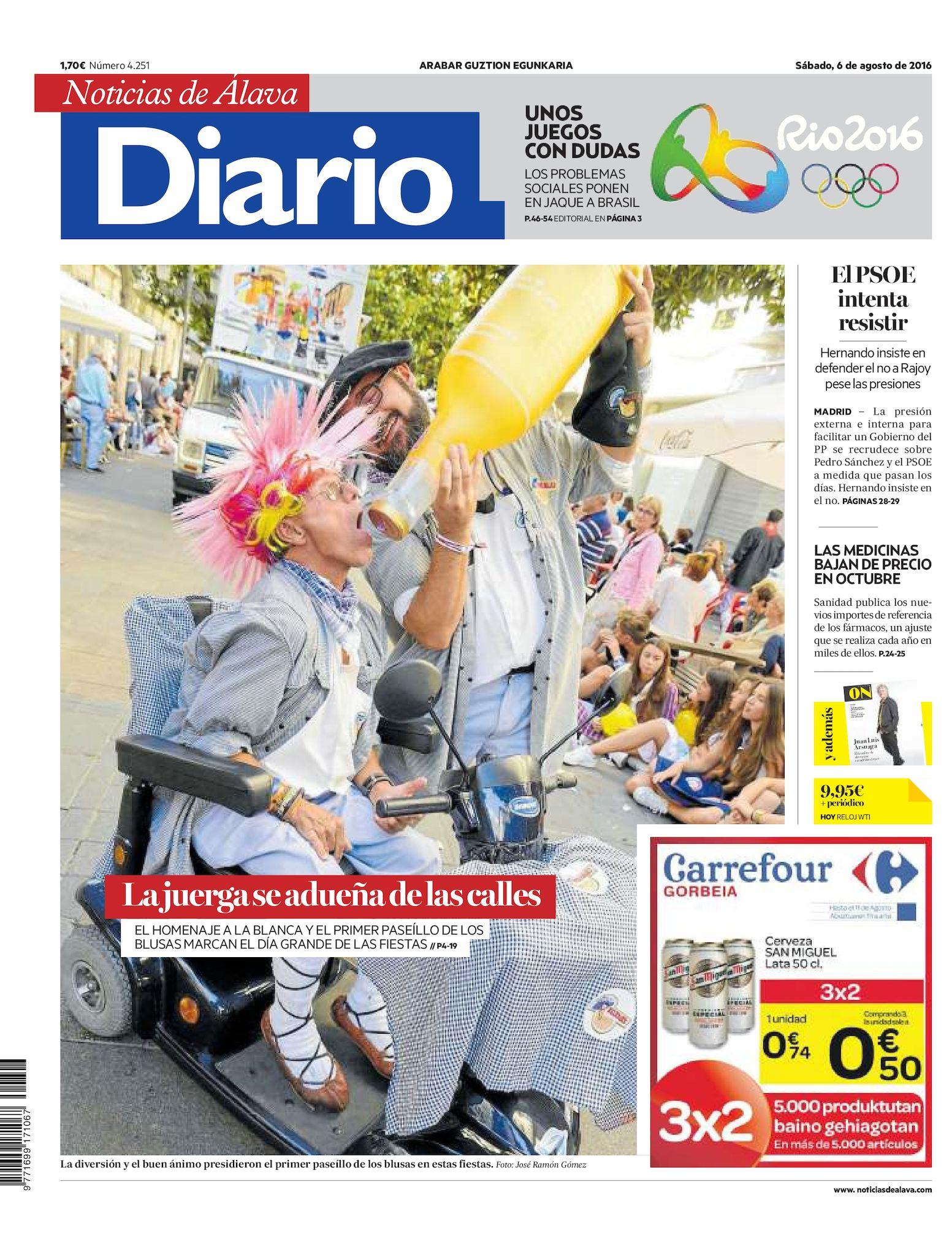 5716184f9 Calaméo - Diario de Noticias de Álava 20160806