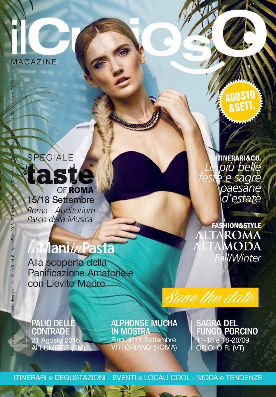 2b1c8fb919 Calaméo - ilCuriosoMagazine Agosto Settembre 2016