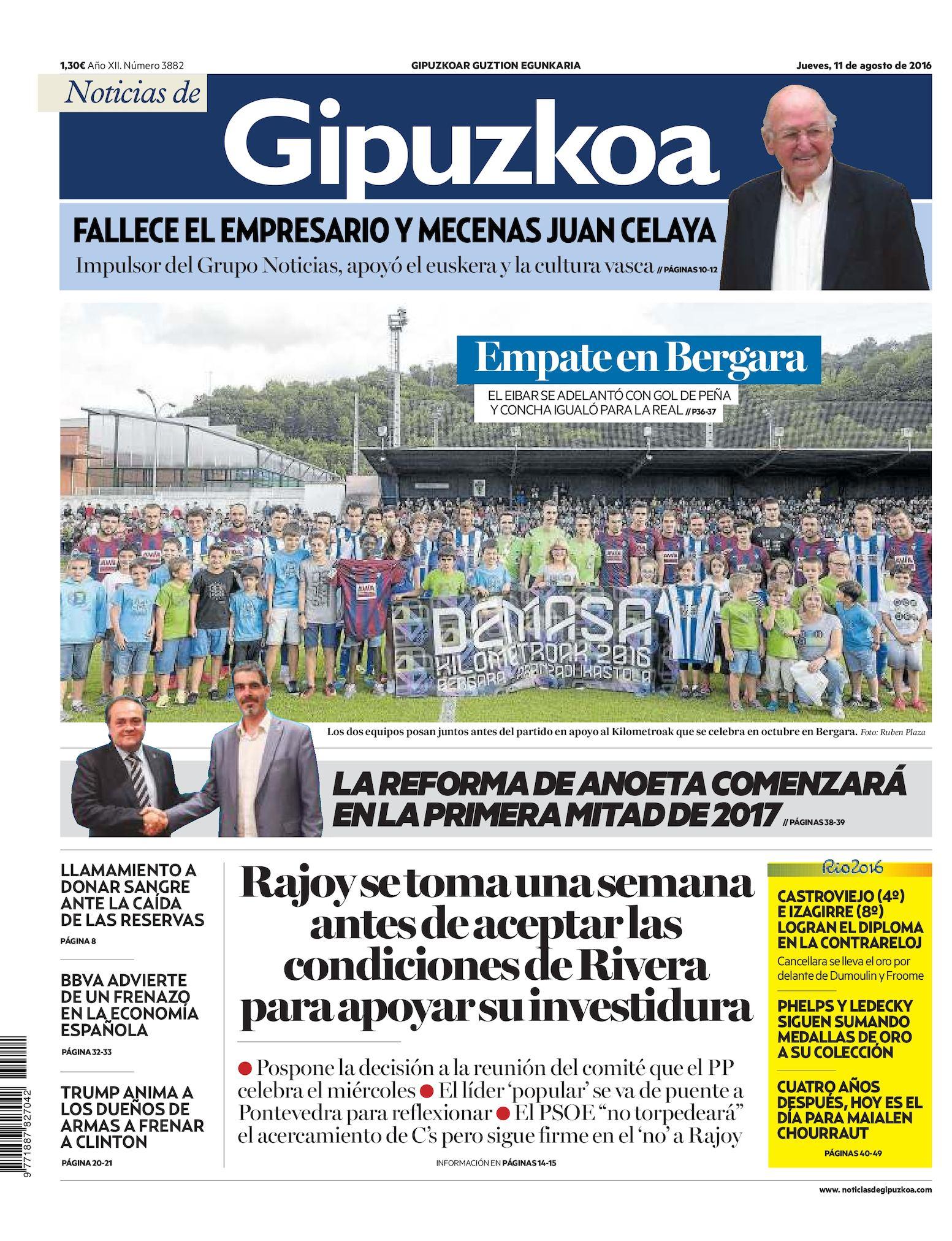 Noticias 20160811 20160811 Calaméo Calaméo de de Gipuzkoa Gipuzkoa Noticias vNn0O8myw