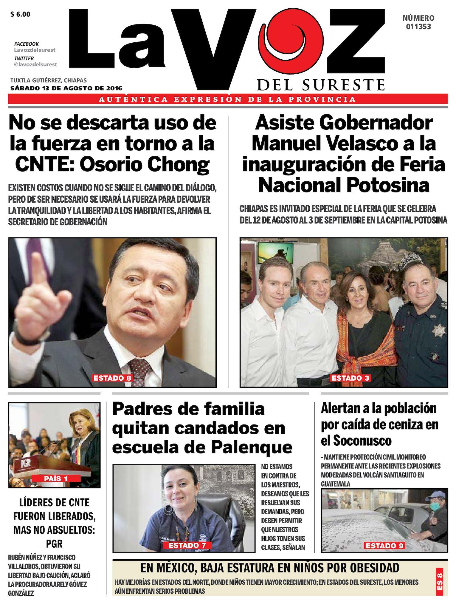 f695ad2ebb48f Calaméo - Diario La Voz del Sureste