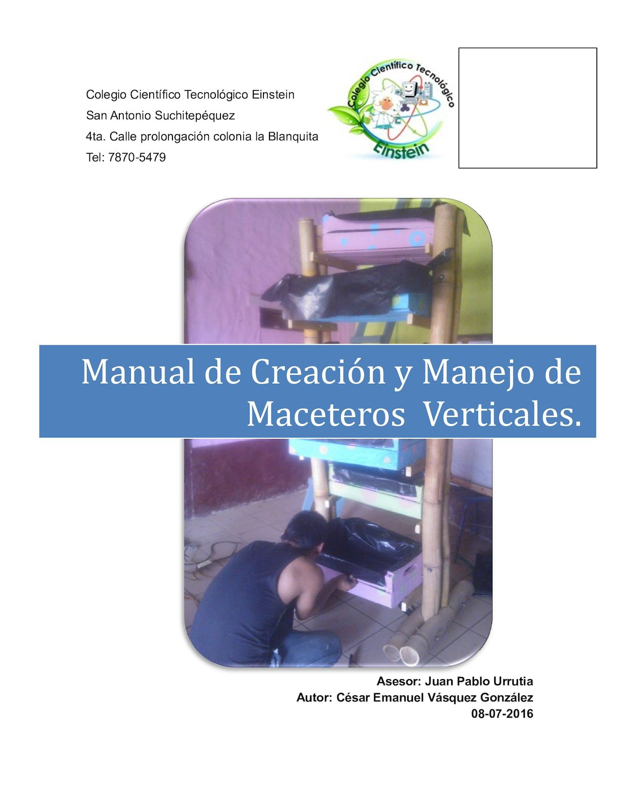 Manual Cultivo Vertical Con Sustratos