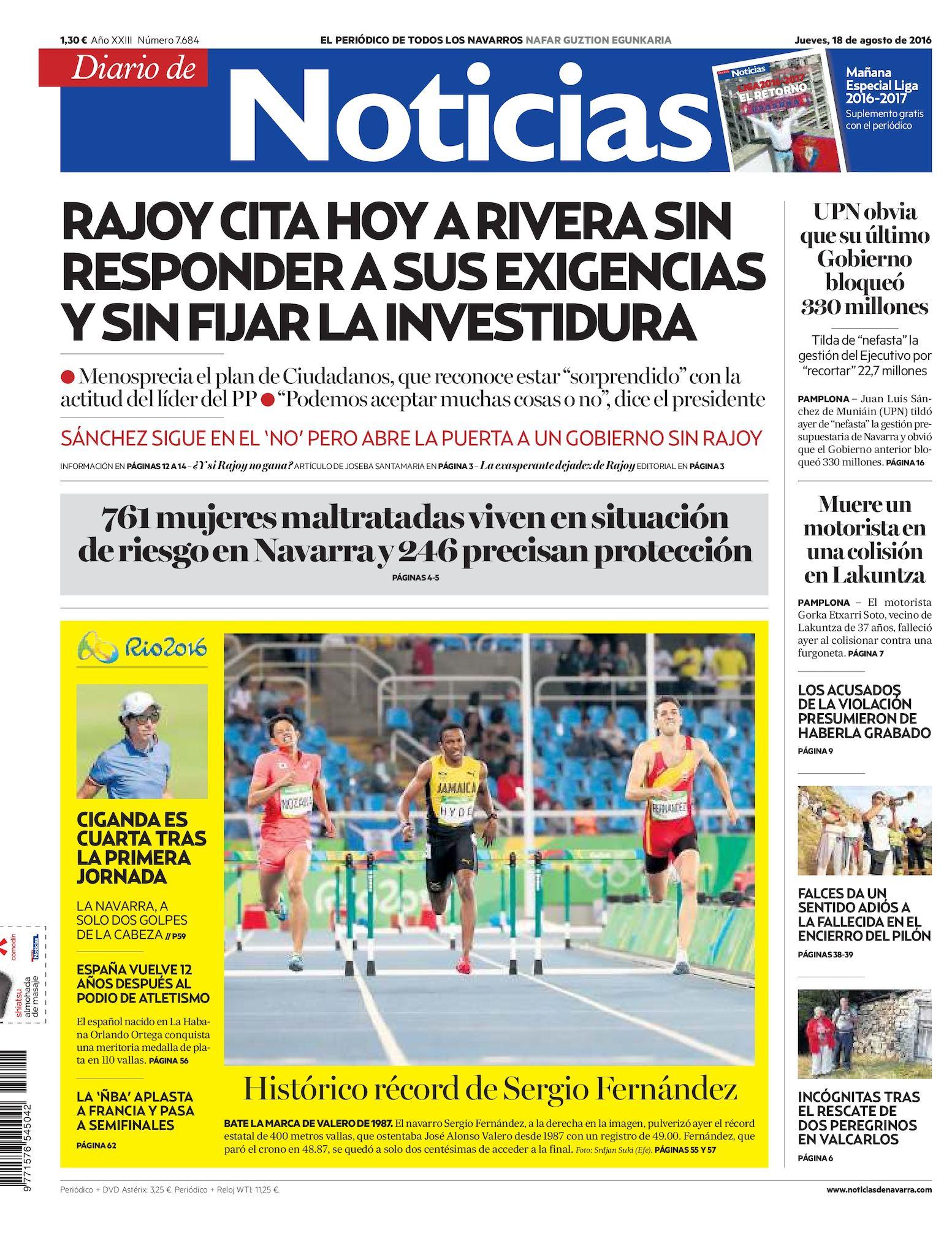 9fa84f6aa9 Calaméo - Diario de Noticias 20160818