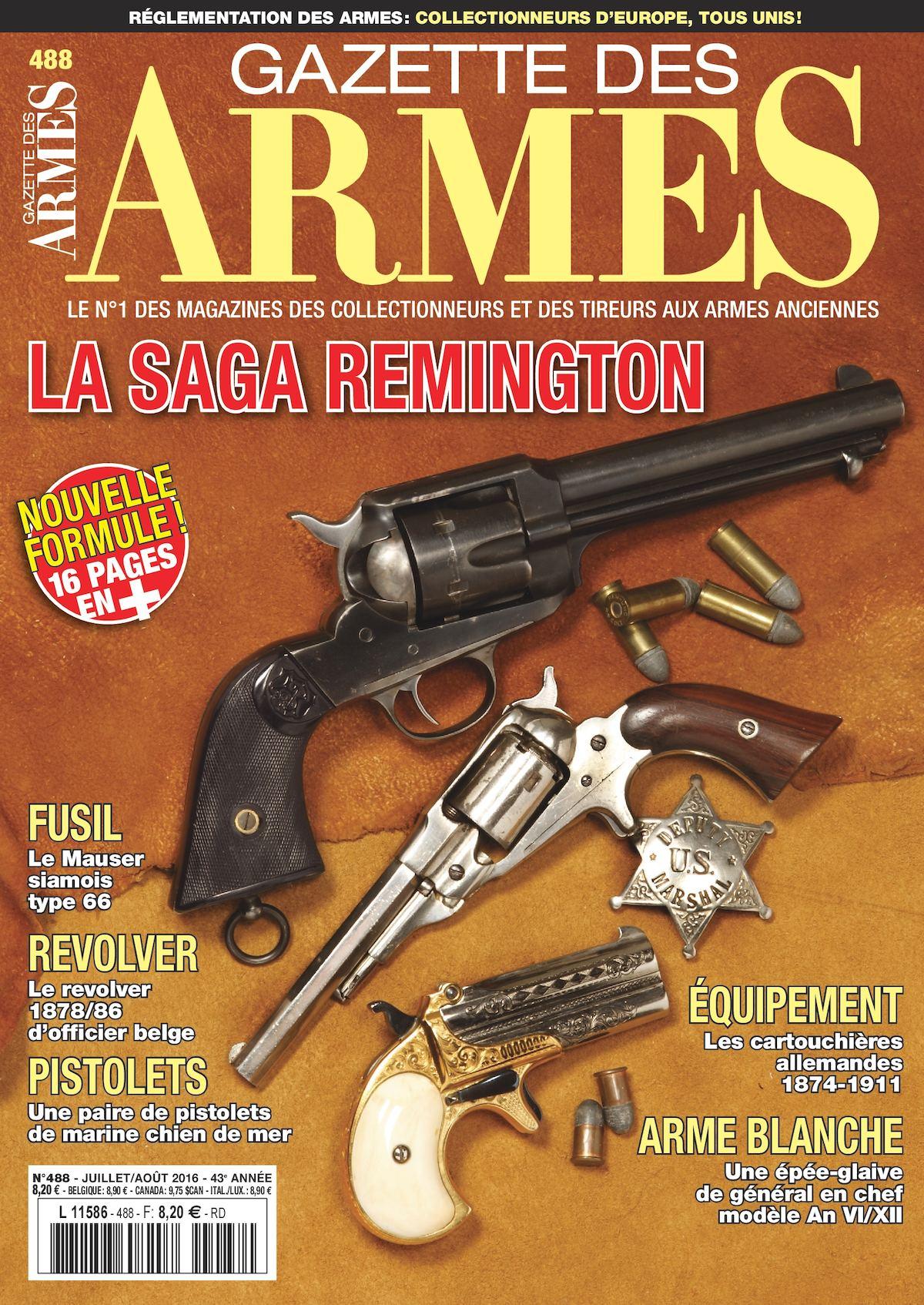 Datant Remington fusils