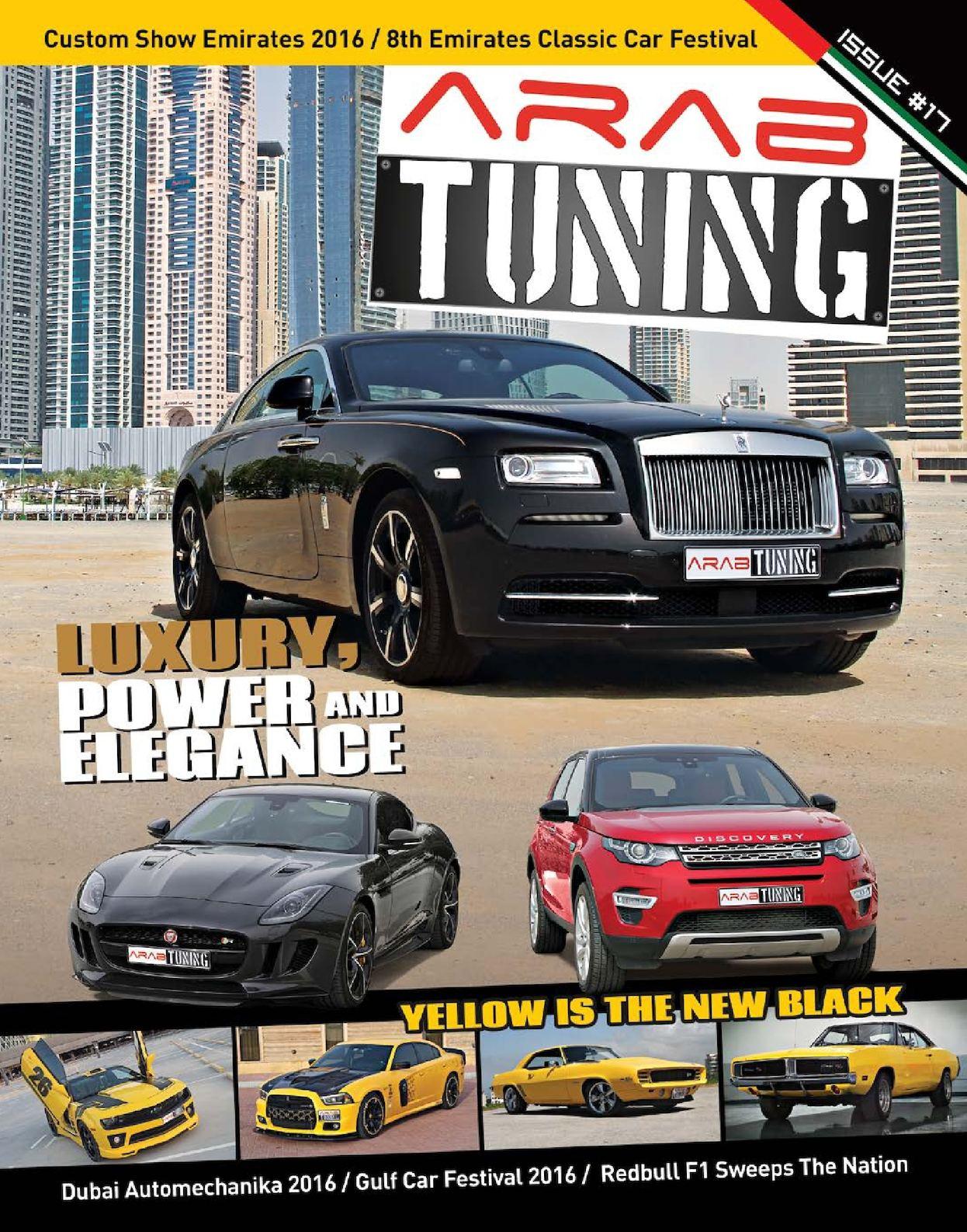 Calaméo - Arab Tuning Issue Magazine #17 UAE Edition