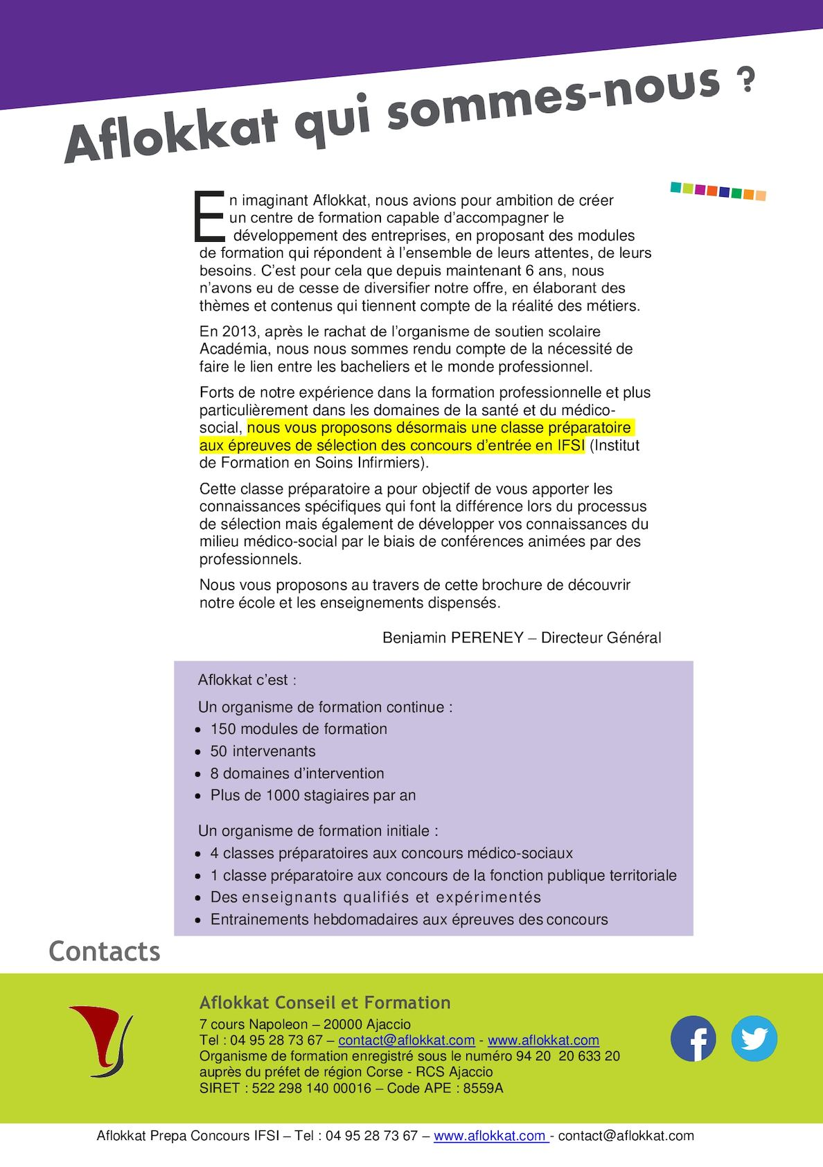 Brochure Prepa Ifsi Aflokkat Calameo Downloader
