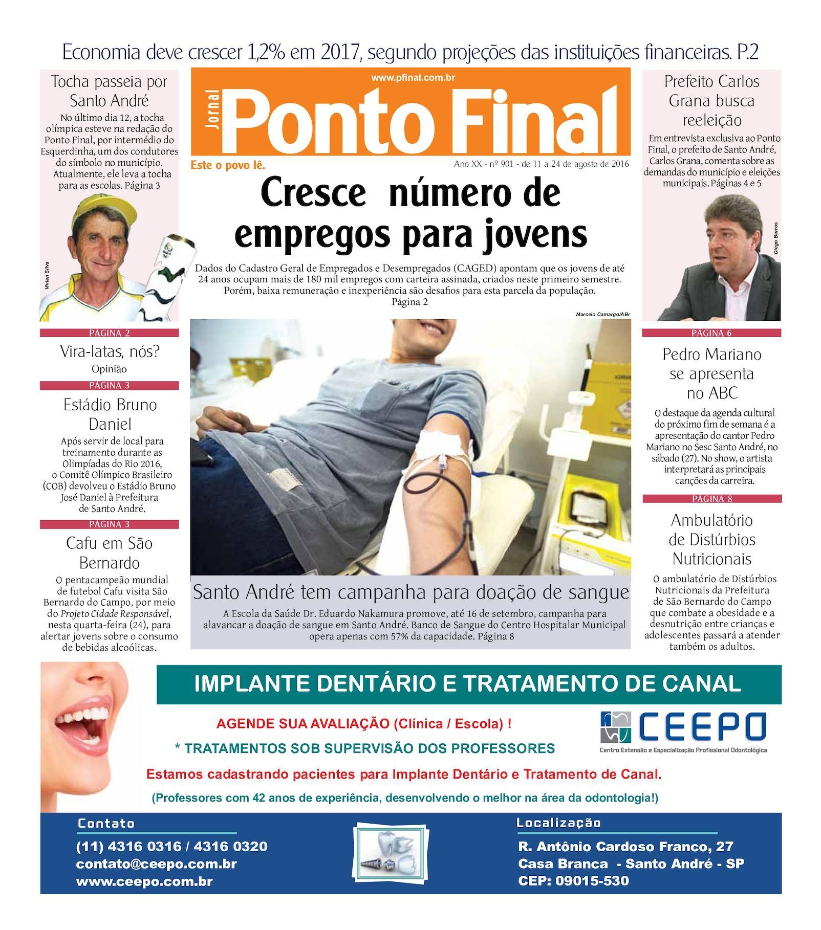 Calaméo - Jornal Ponto Final 901 a6341325da404