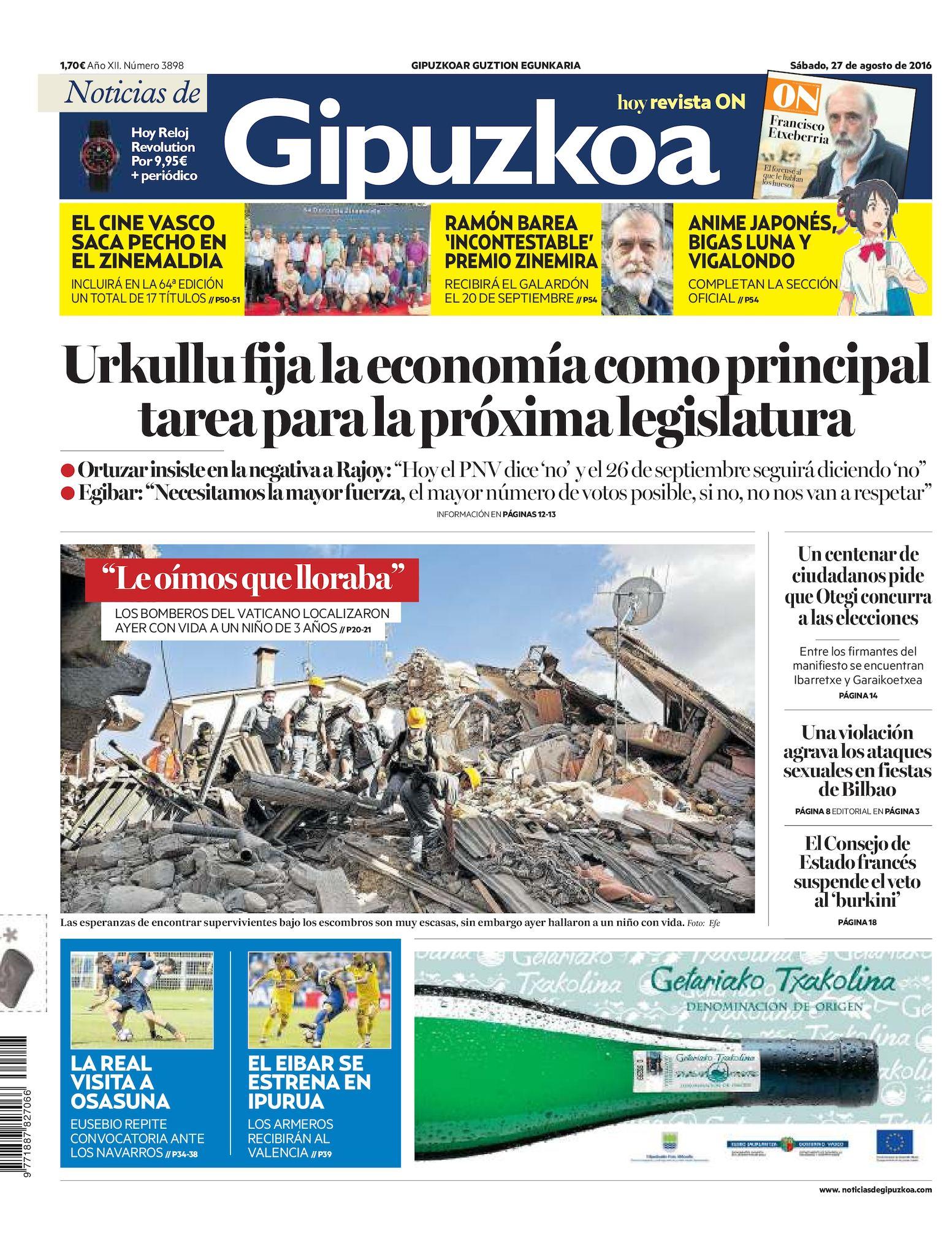 fac9b4a0e1 Calaméo - Noticias de Gipuzkoa 20160827