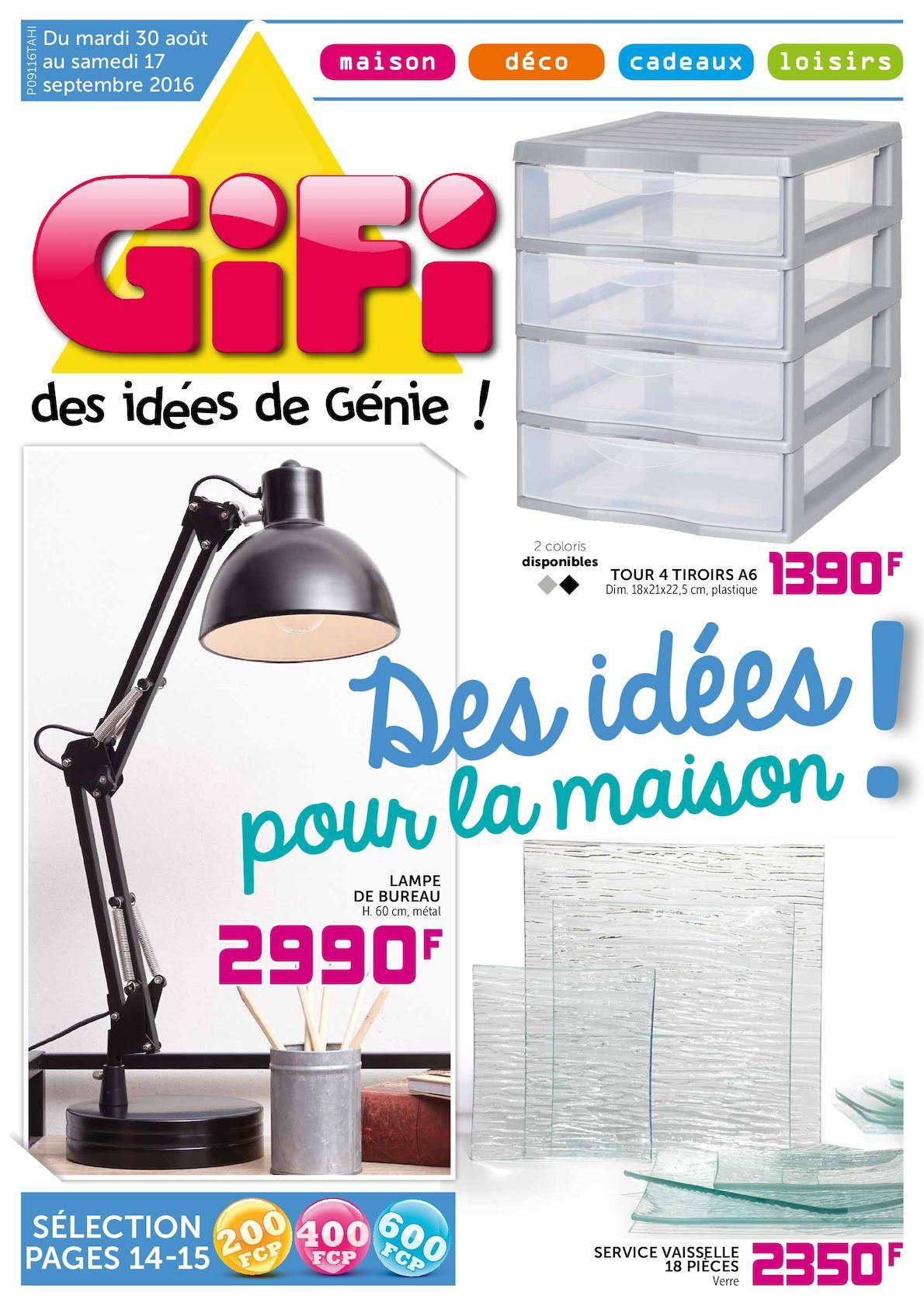 Calaméo Gifi Des Idées Pour La Maison Septembre 2016