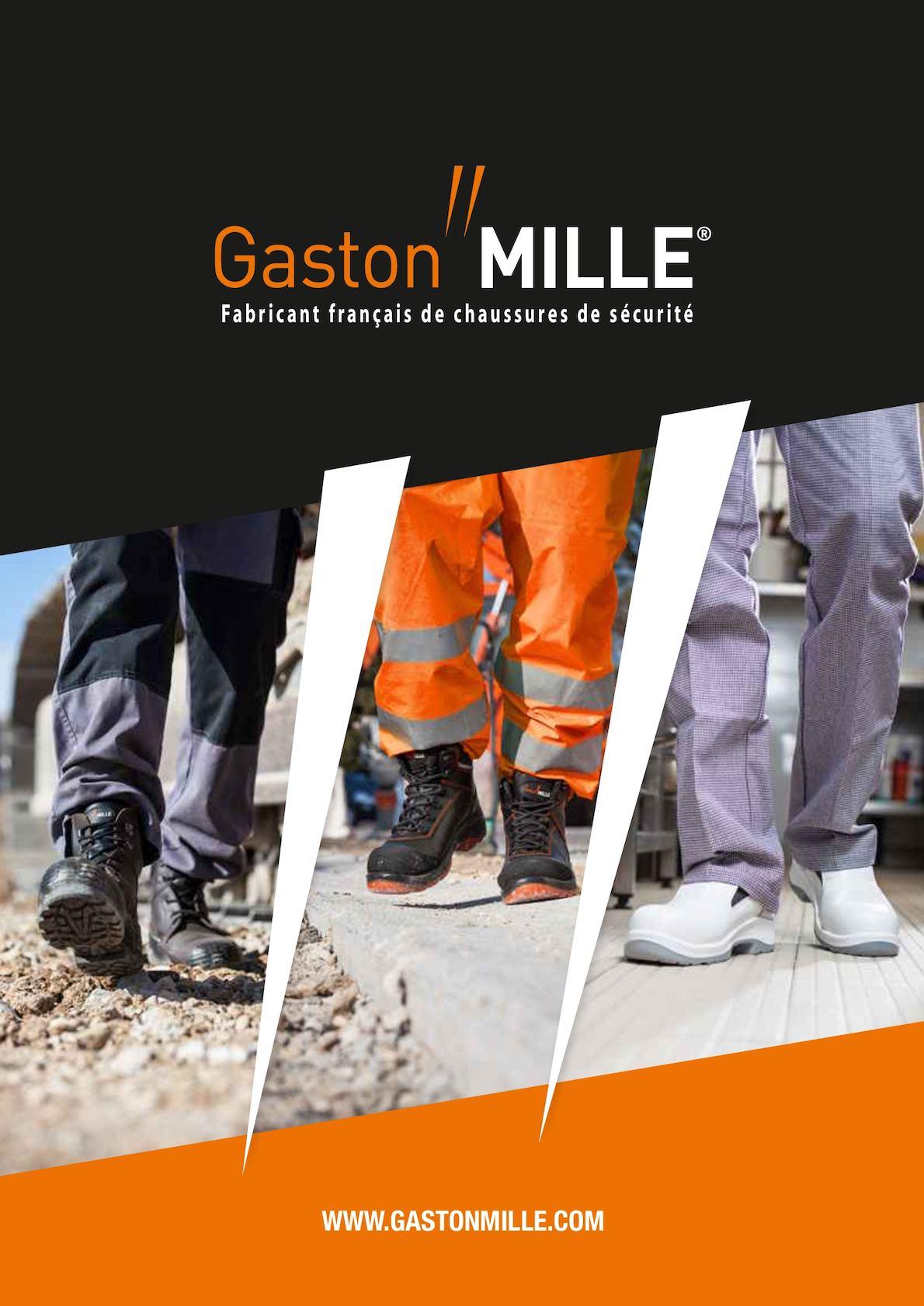 Gaston Mille Chaussures de s/écurit/é BTP et industrie lourde HOT PEPPER S3 SRC