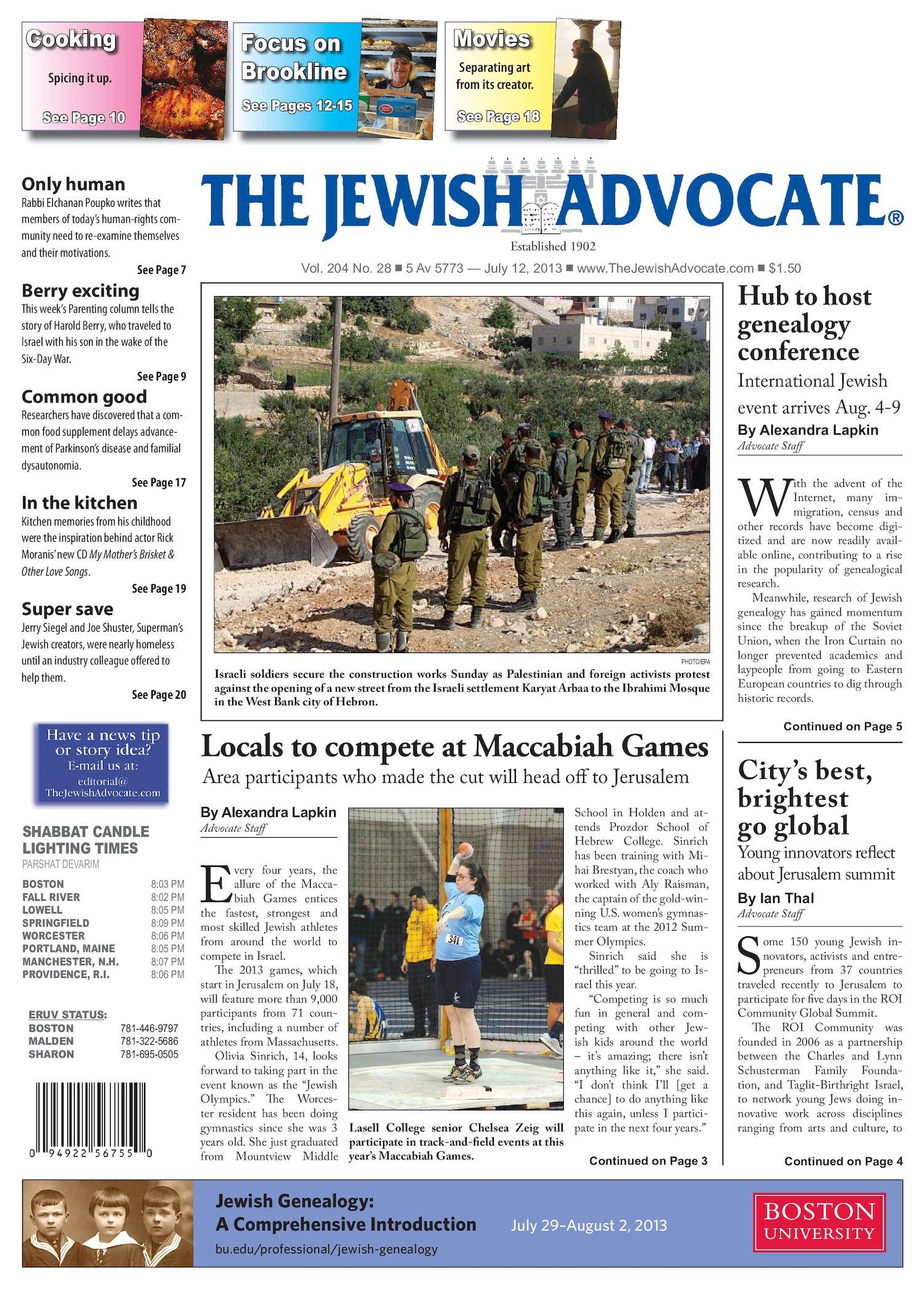 Calaméo The Jewish Advocate July 12 2013