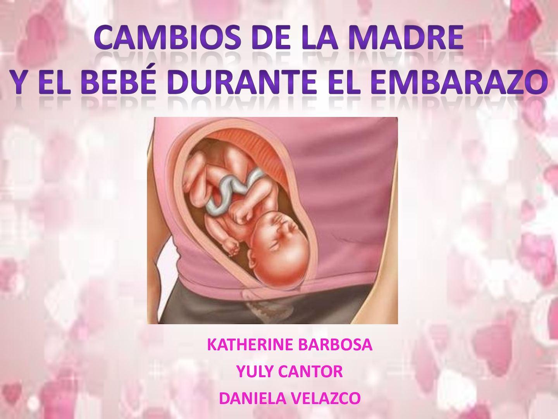 7807757ad Calaméo - CAMBIOS DEL BEBÉ Y LA MADRE DURANTE EL EMBARAZO