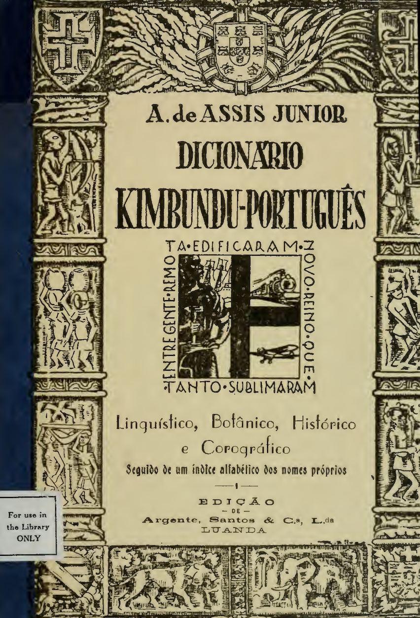 aa2ce90d300 Calaméo - Dicionário Kimbundu