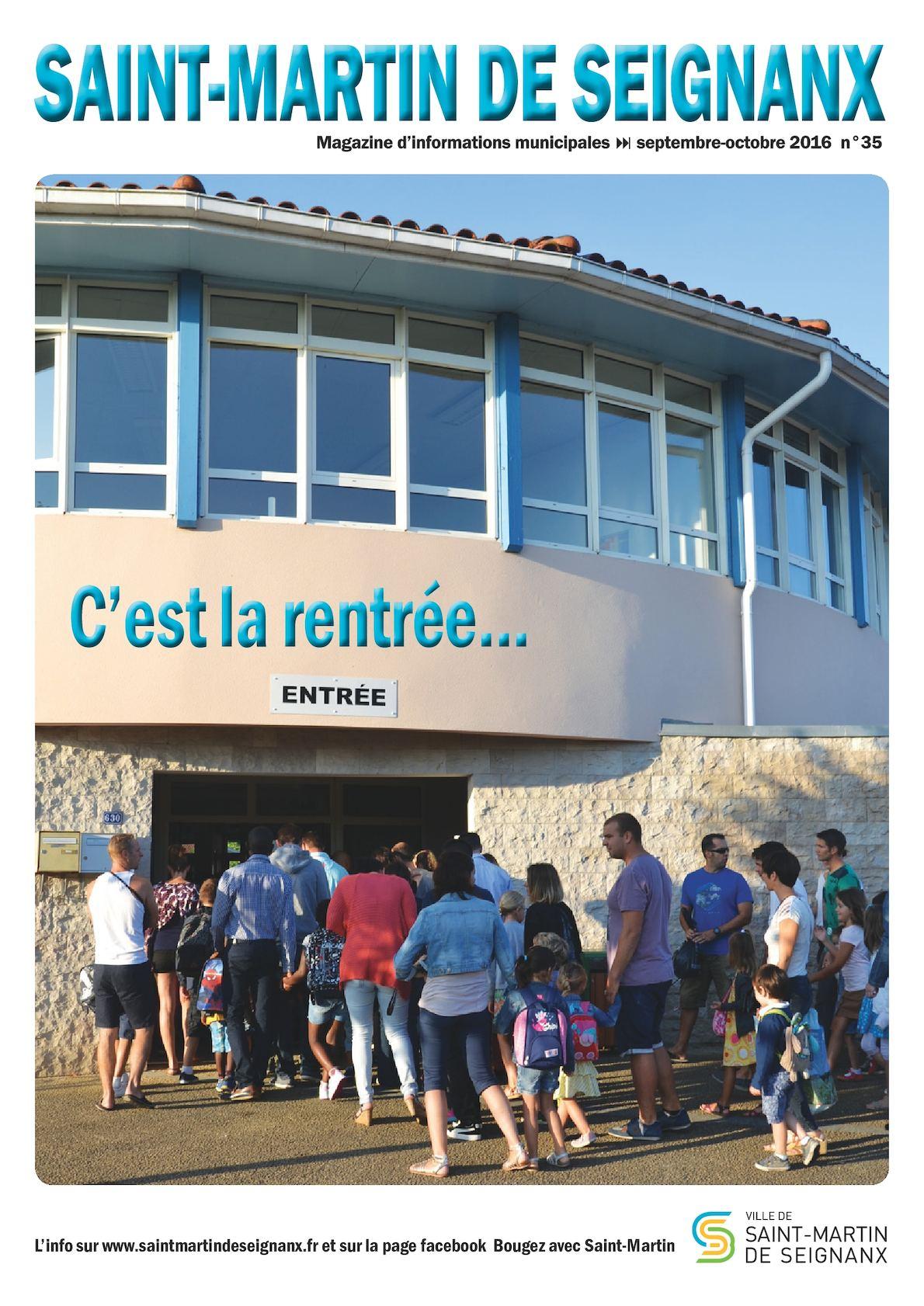 Casse St Martin De Seignanx calaméo - journal municipal web