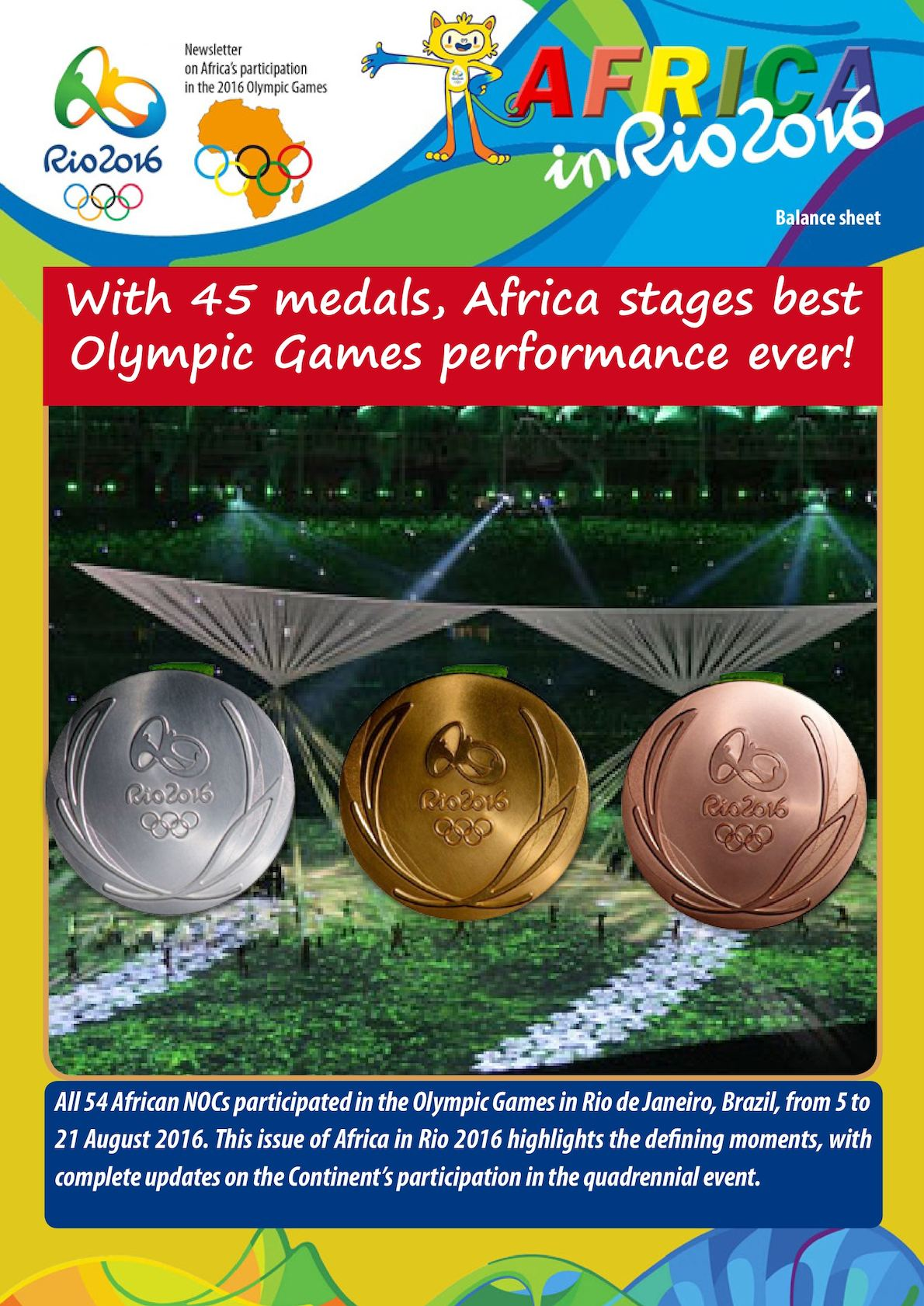 Africa In Rio 2016 Balance Sheet