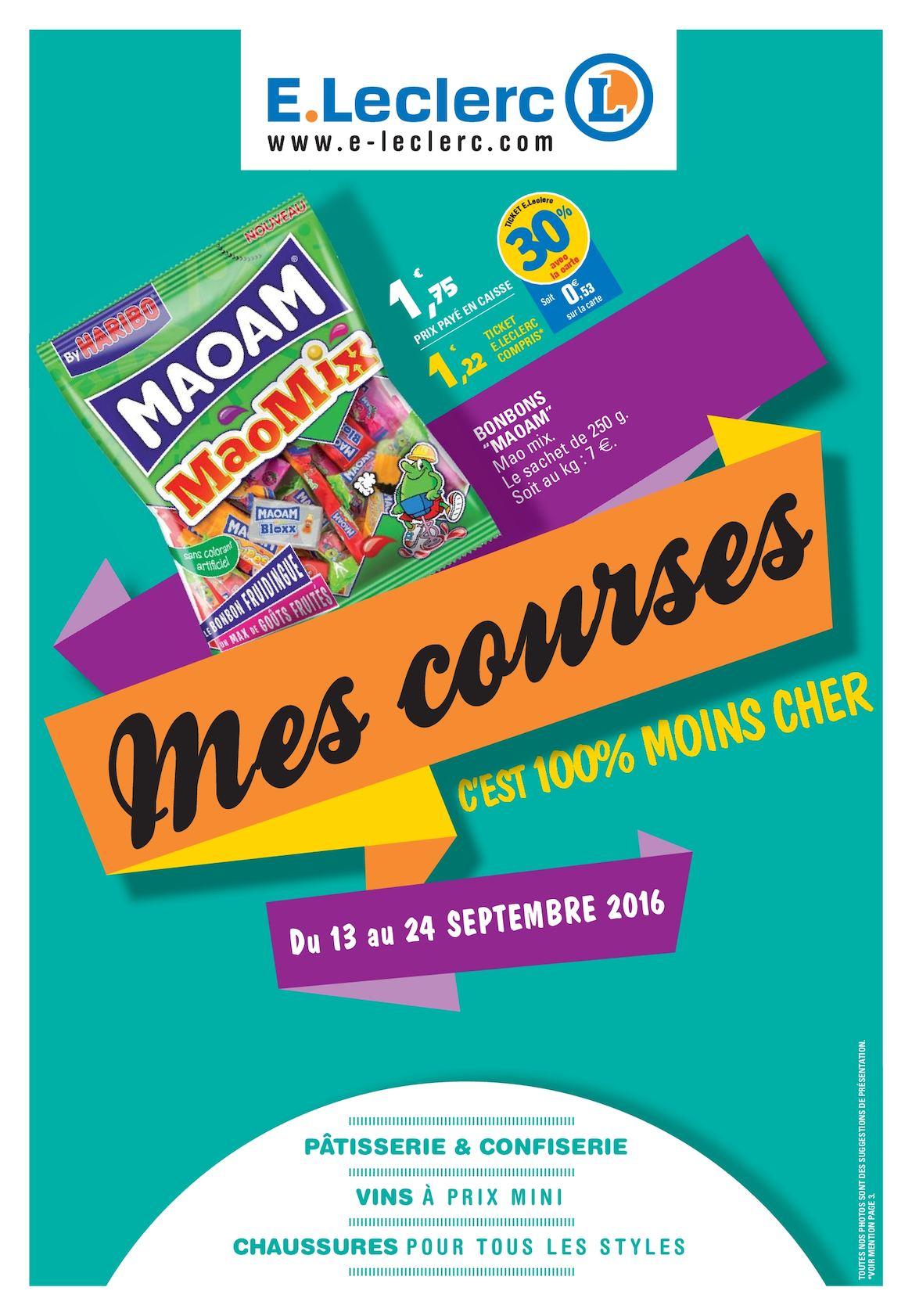 Calameo E Leclerc Mes Courses C Est 100 Moins Cher Vitesse 2